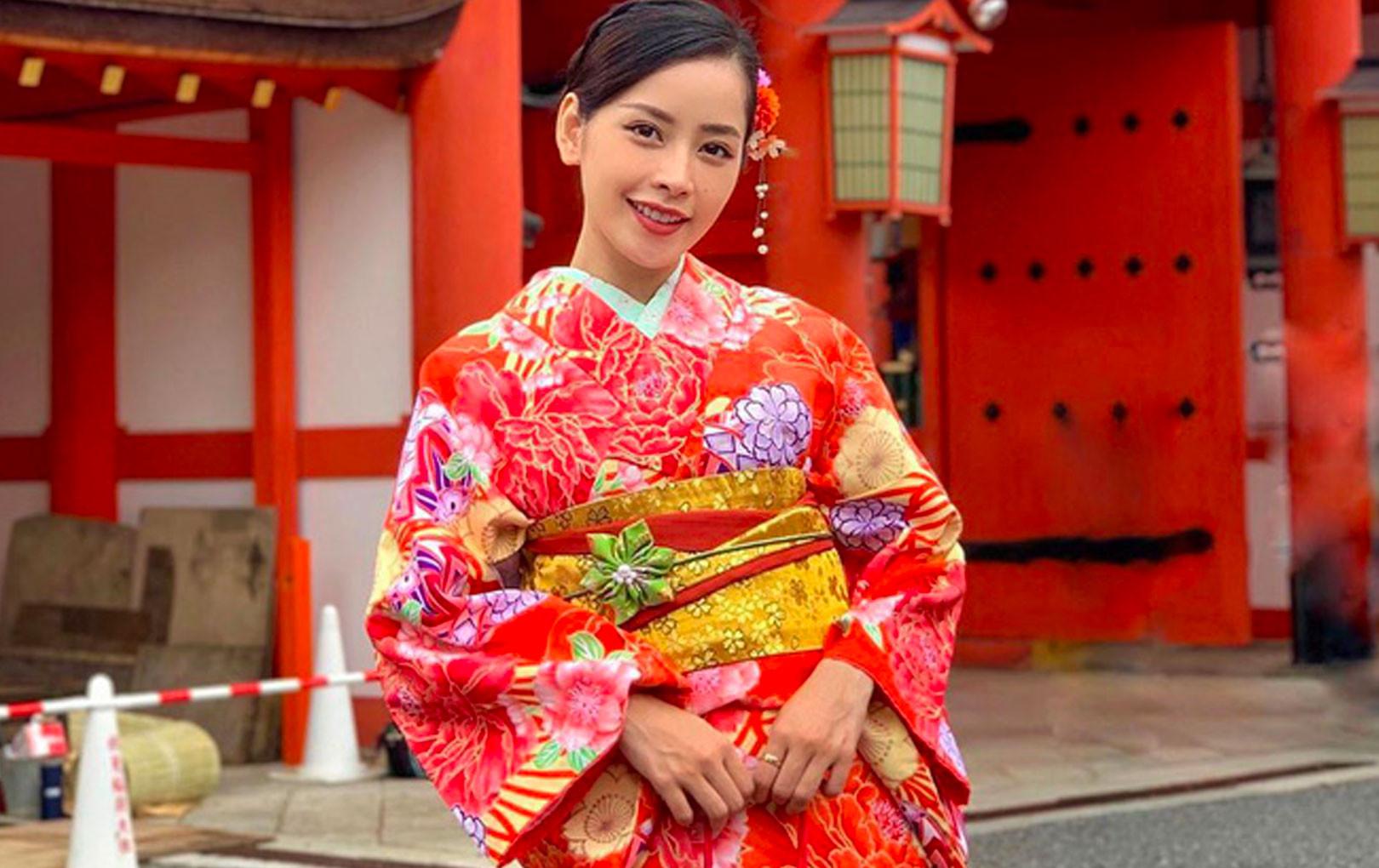 """Chi Pu xinh ngất ngây trong bộ ảnh du lịch Nhật Bản nhưng bình luận """"cà khịa"""" của Sun HT mới gây chú ý"""