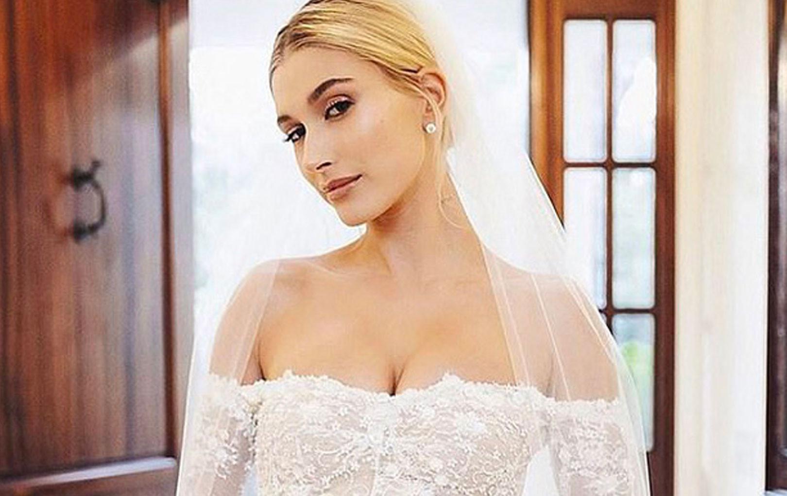 Stylist công khai loạt ảnh thần sầu của Hailey trong đám cưới với Justin Bieber