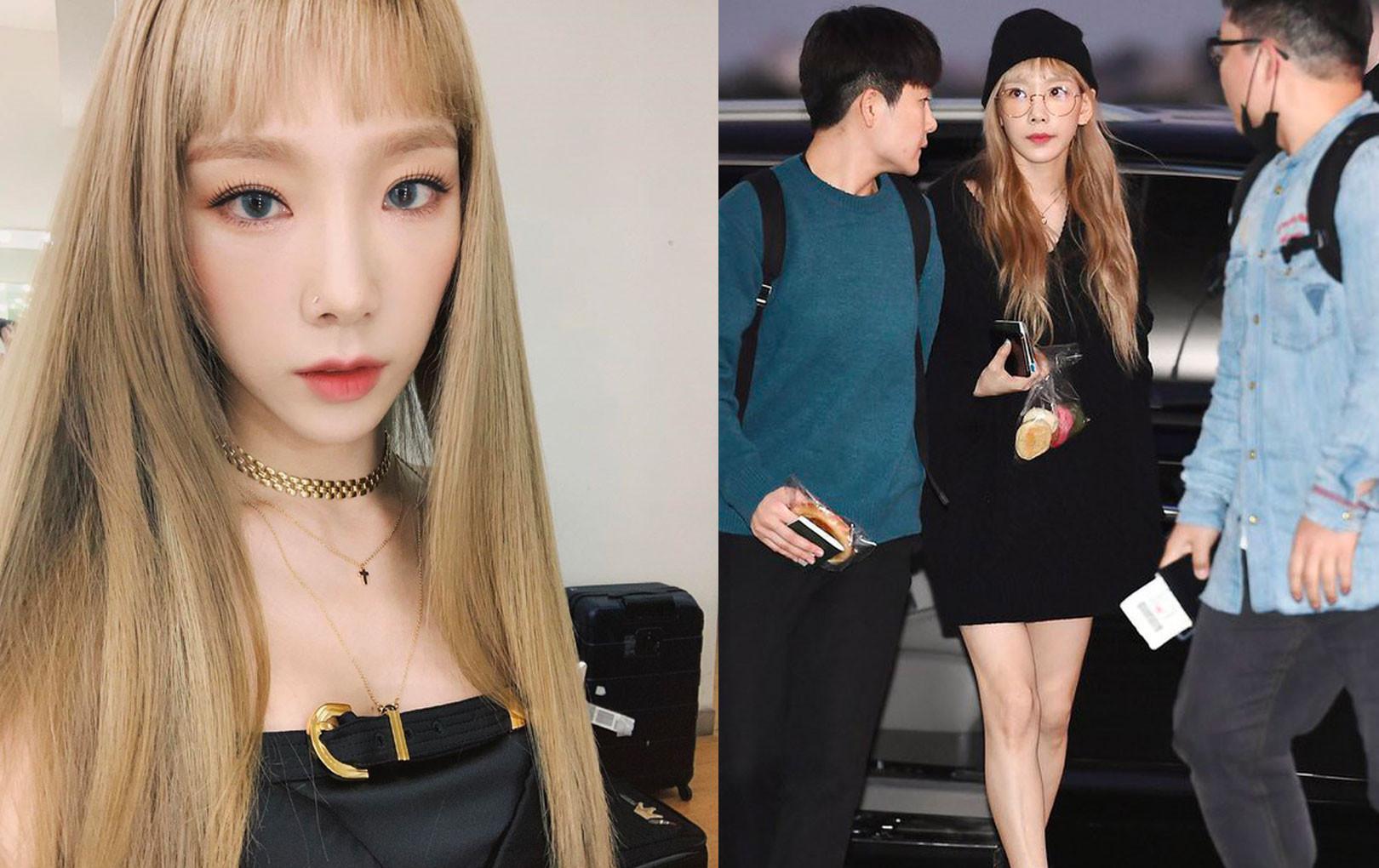 Taeyeon hậu đám tang Sulli: Xinh đẹp lạnh lùng và vẫn mặc đồ đen!