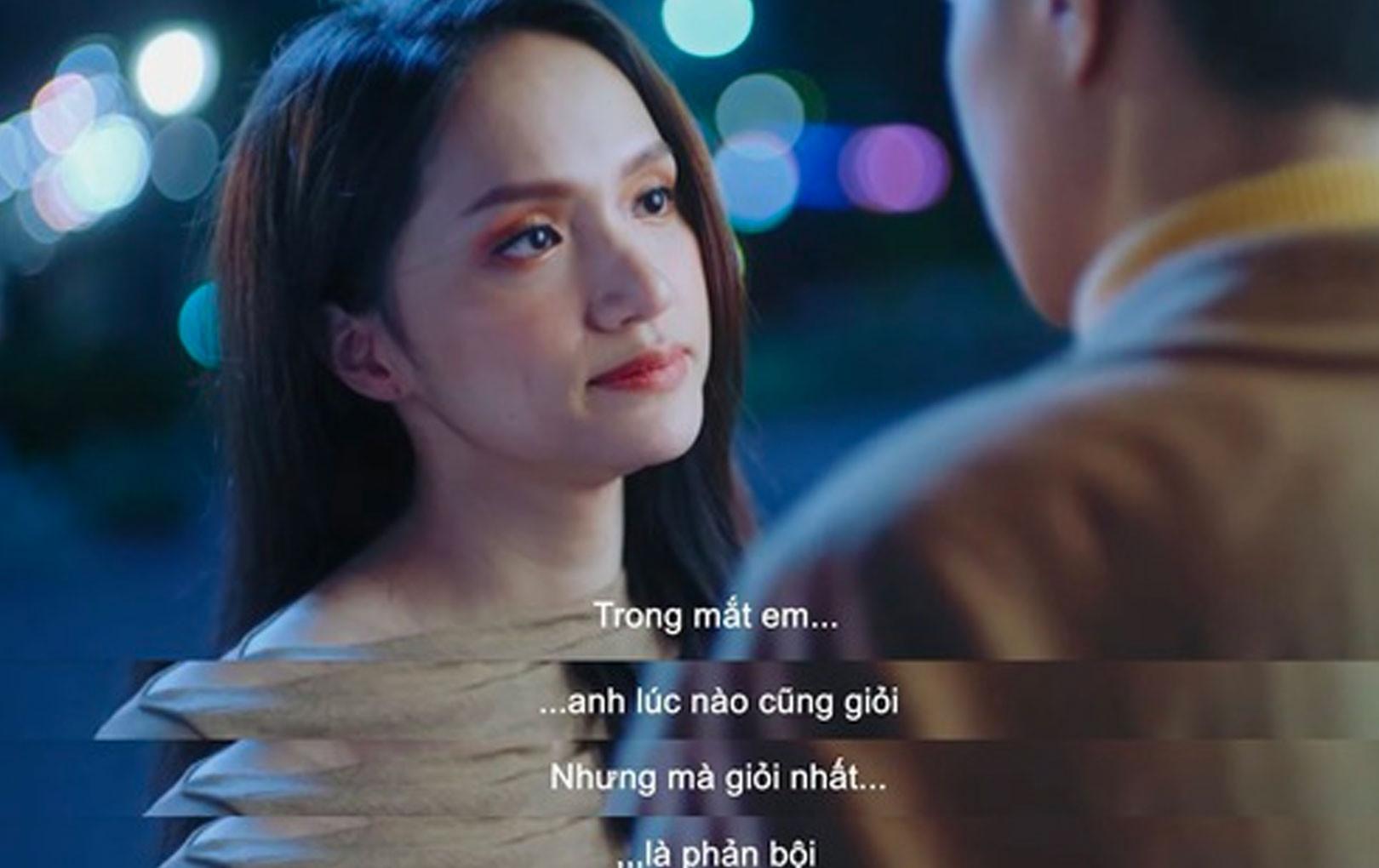 """Đặc sản trong series MV ADODDA, Hương Giang có thêm """"trend quote"""" mới : """"Anh lúc nào cũng giỏi, nhưng giỏi nhất là phản bội!"""""""