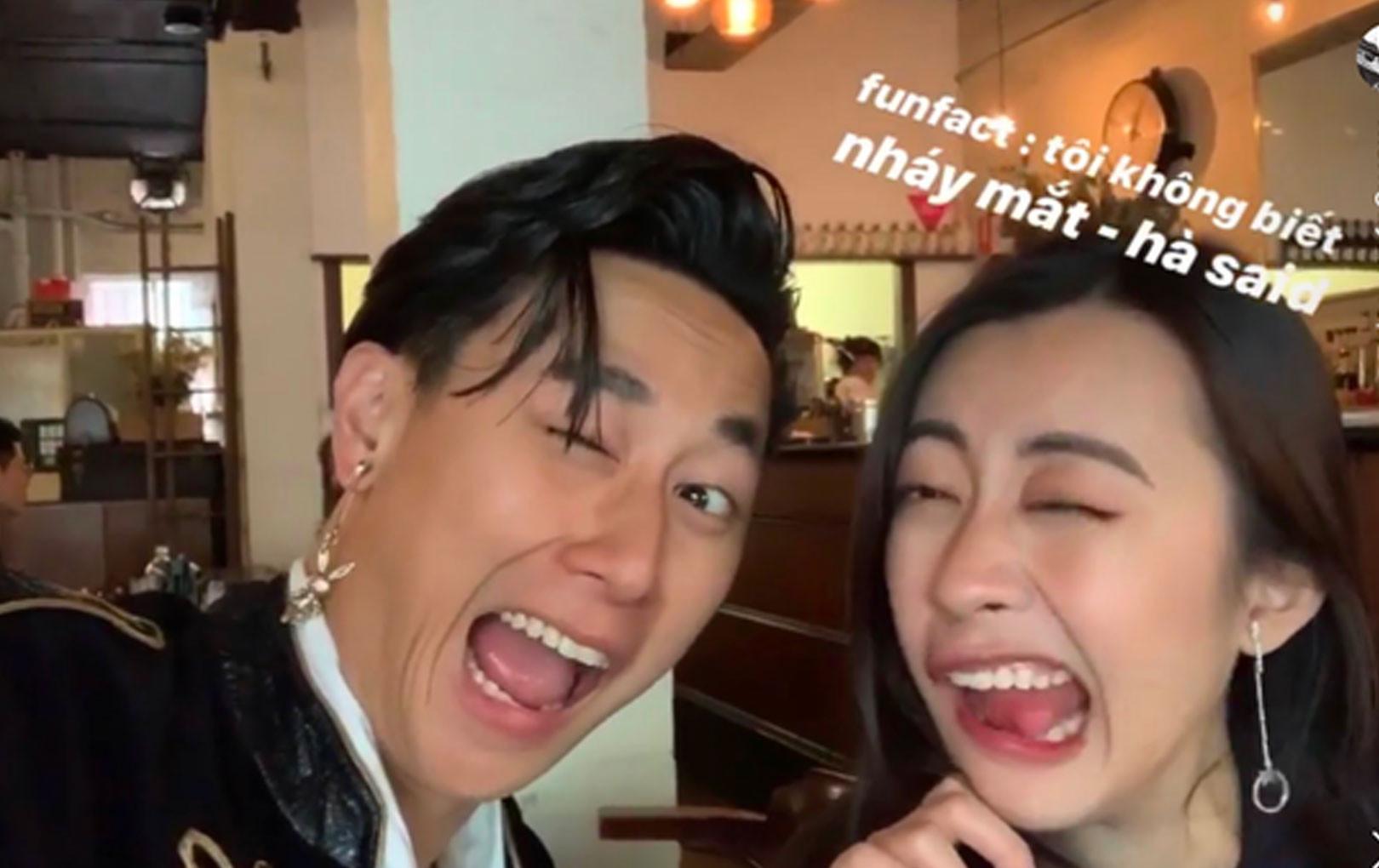 Chán lãng mạn, ngọt ngào Rocker Nguyễn nhí nhố dìm hàng bạn gái không tiếc tay