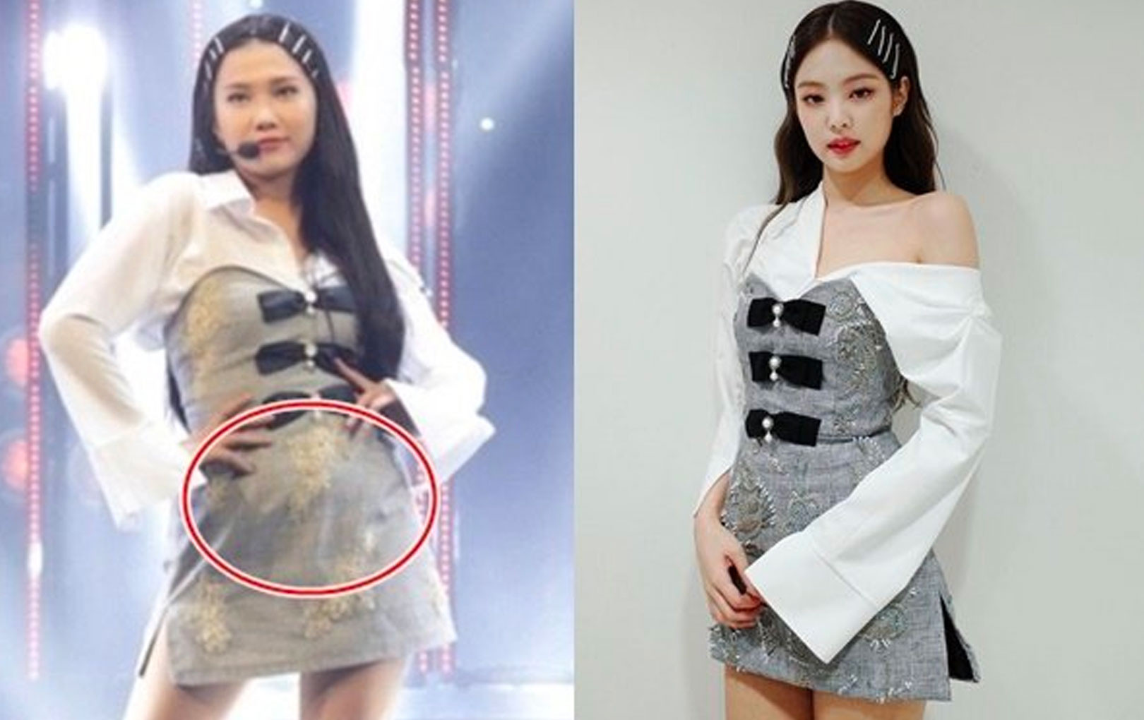 Emma Nhất Khanh lên tiếng phản hồi khi bị fan BLACKPINK nghi hát nhép, lộ bụng mỡ khi đóng giả Jennie