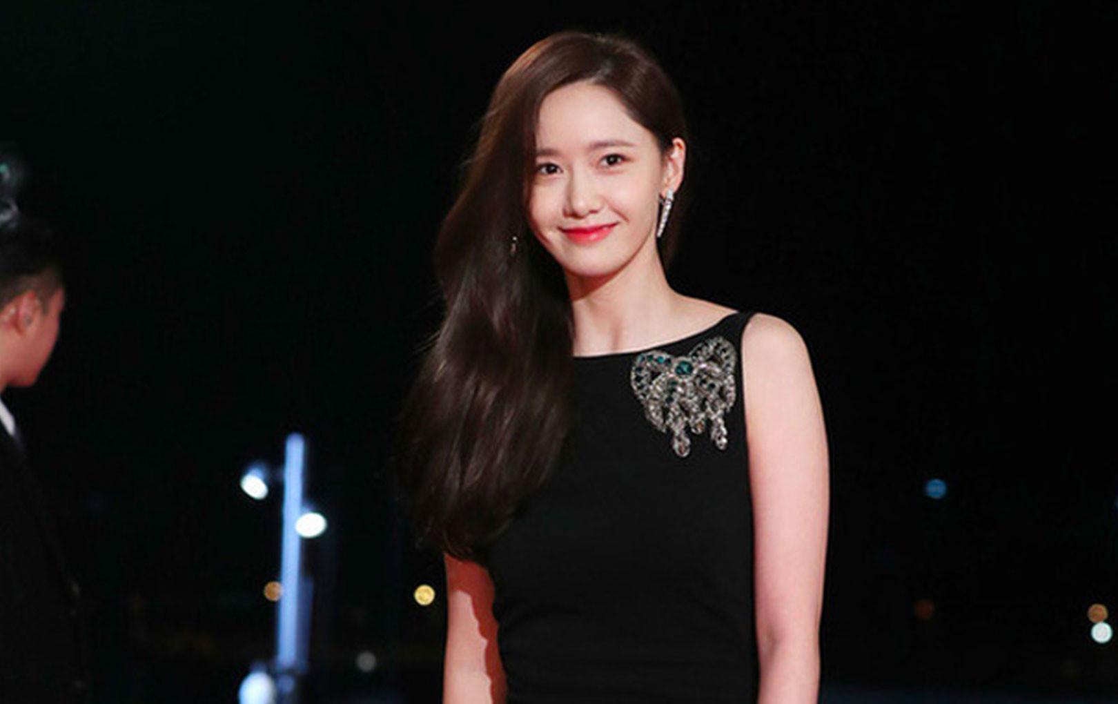 Yoona khoe nhan sắc xinh đẹp tại Lễ trao giải Rồng Xanh lần thứ 40