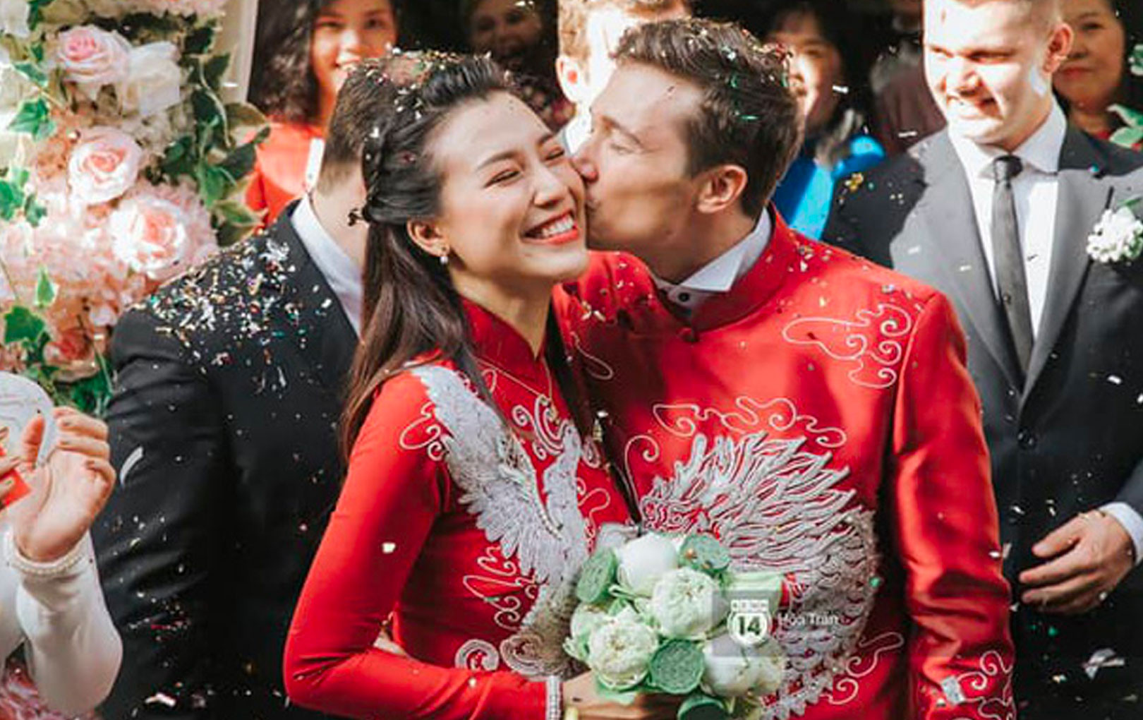 Hoàng Oanh lần đầu chia sẻ những khoảnh khắc đời thường bên chồng Tây sau 3 ngày kết hôn