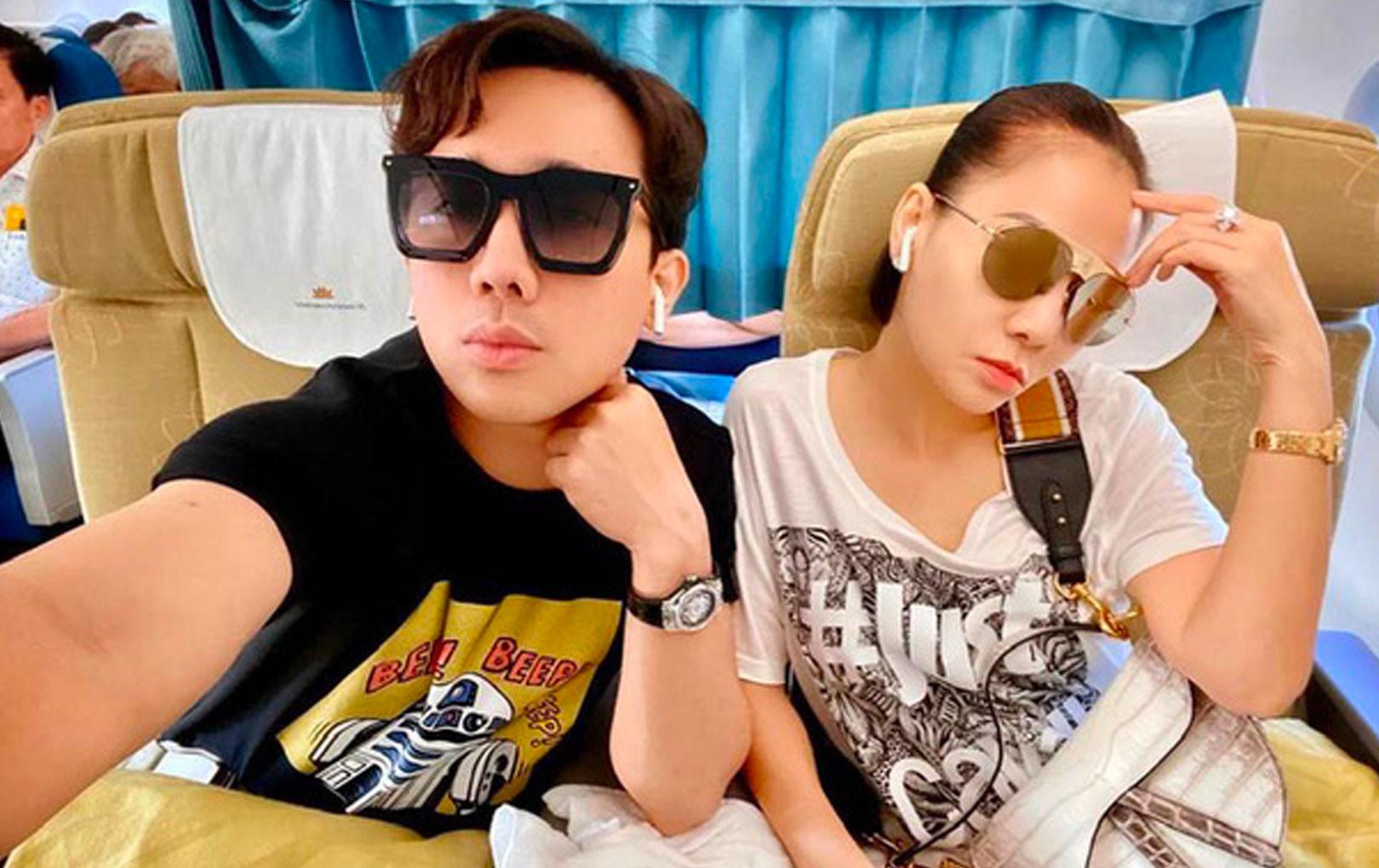 """Thu Minh đi tổng duyệt HHHV chiếm hết spotlight với chiếc túi Dior """"bạch tạng"""" tiền tạ tiền tấn"""