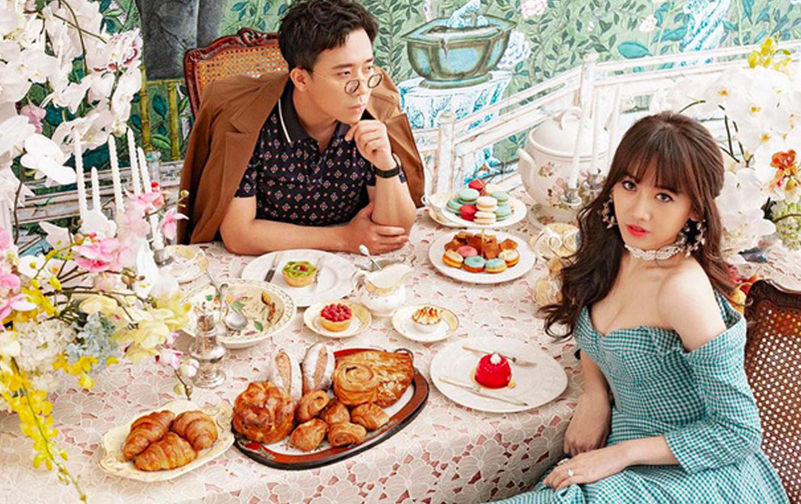 """Trấn Thành hào hứng khoe sớm dự đoán Khánh Vân là Tân Hoa hậu, Hari Won liền vào """"cà khịa"""" cực đáng yêu!"""