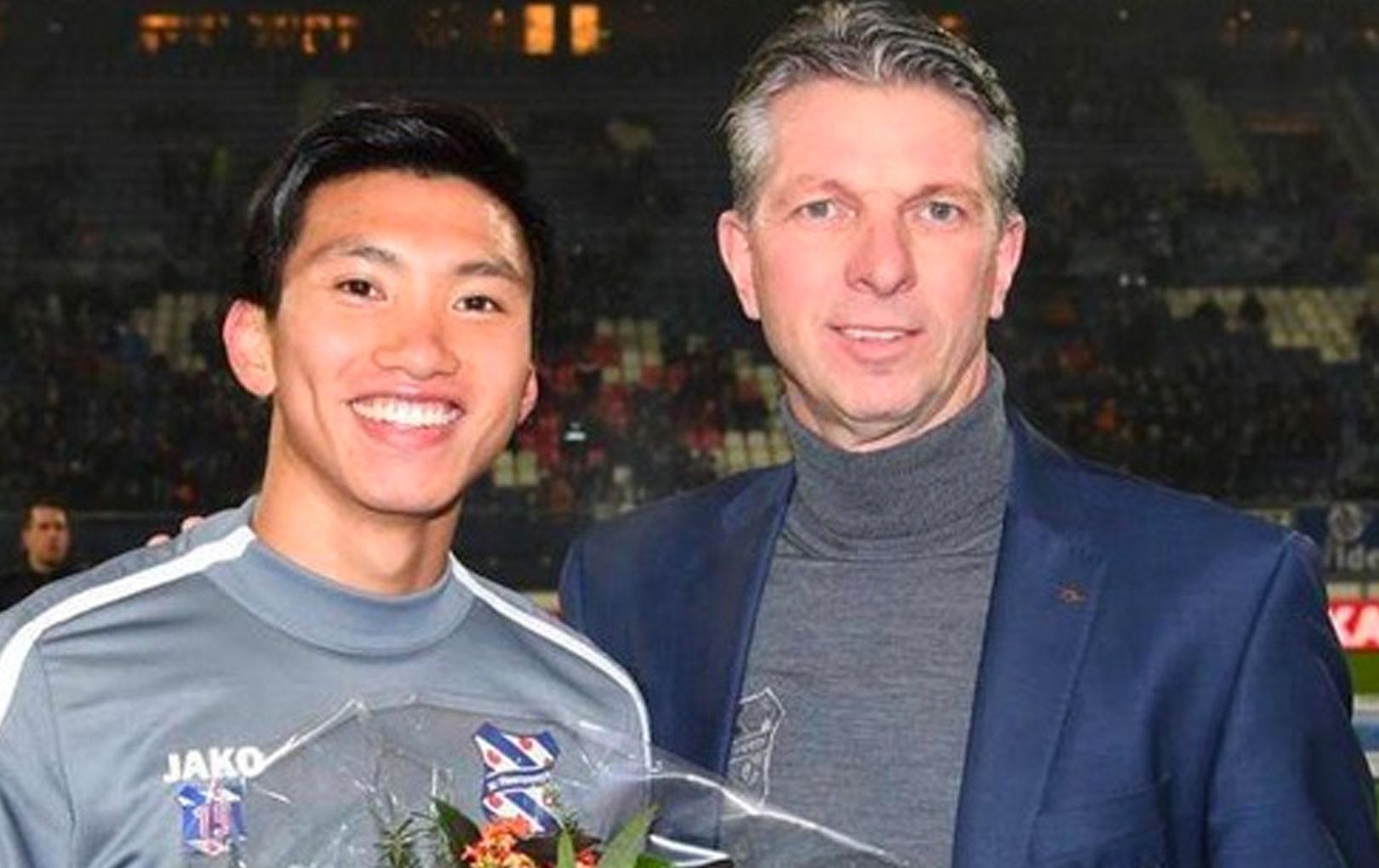 Đoàn Văn Hậu được SC Heerenveen vinh danh sau chiến tích SEA Games 30
