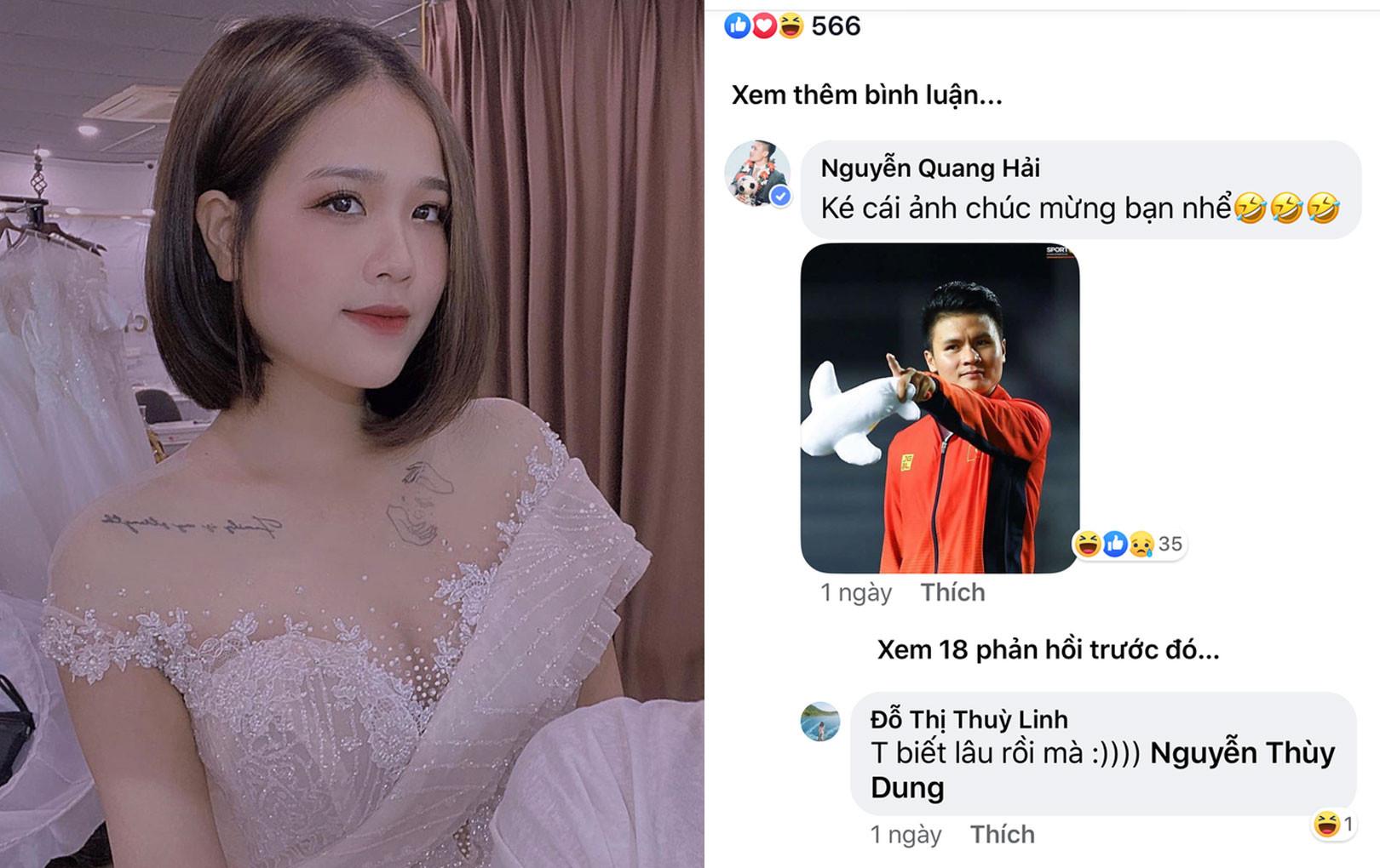 """Lộ thêm """"tình tin đồn"""" mới của Quang Hải, hóa ra không phải là hot girl 1m52"""