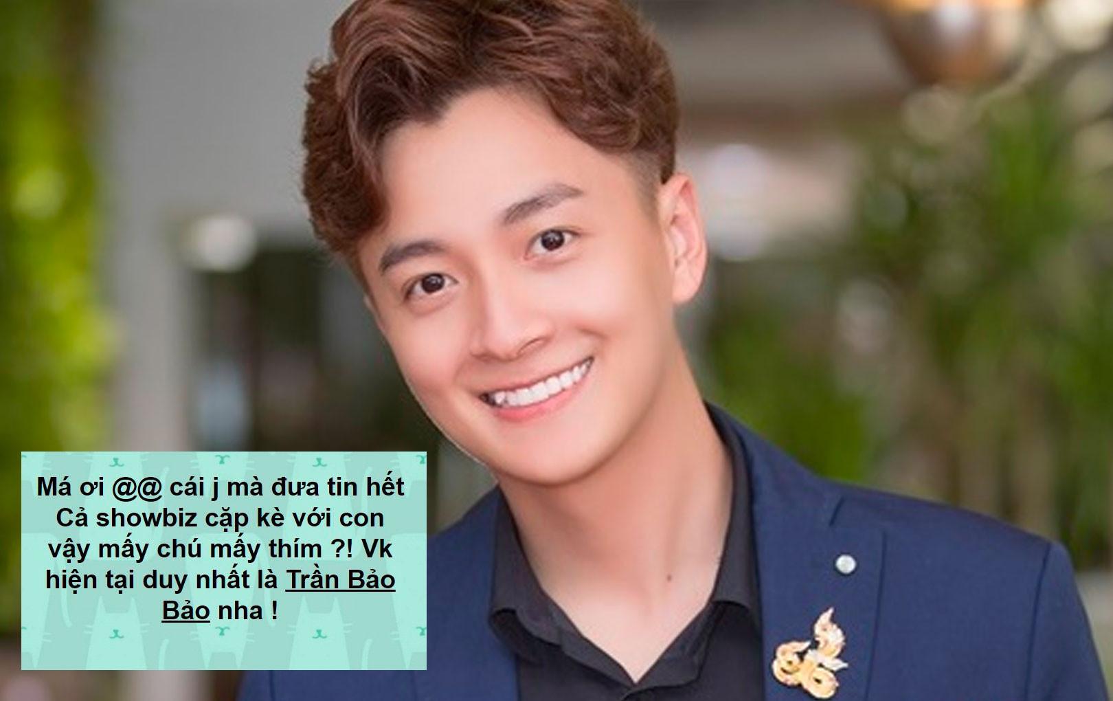 Giữa tin đồn hẹn hò với tình mới, Ngô Kiến Huy lên tiếng công khai vợ hiện tại chỉ có BB Trần