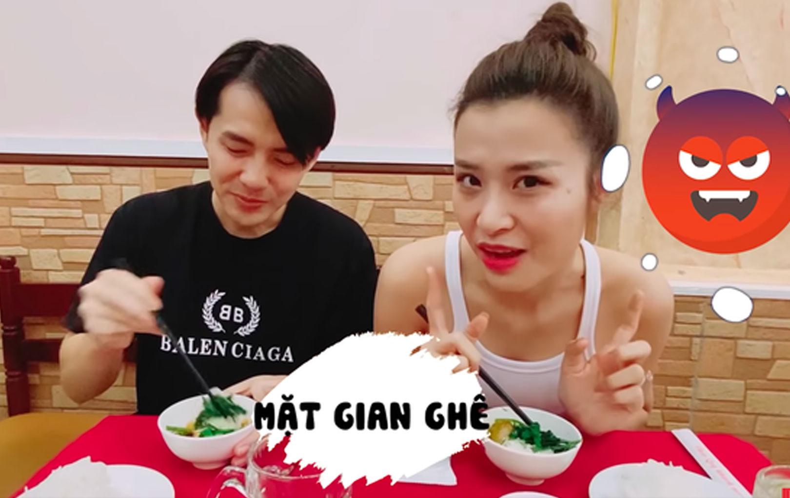 Vợ chồng Đông Nhi - Ông Cao Thắng dắt nhau đi tour ẩm thực Hà Nội với chiếc bao tử khổng lồ