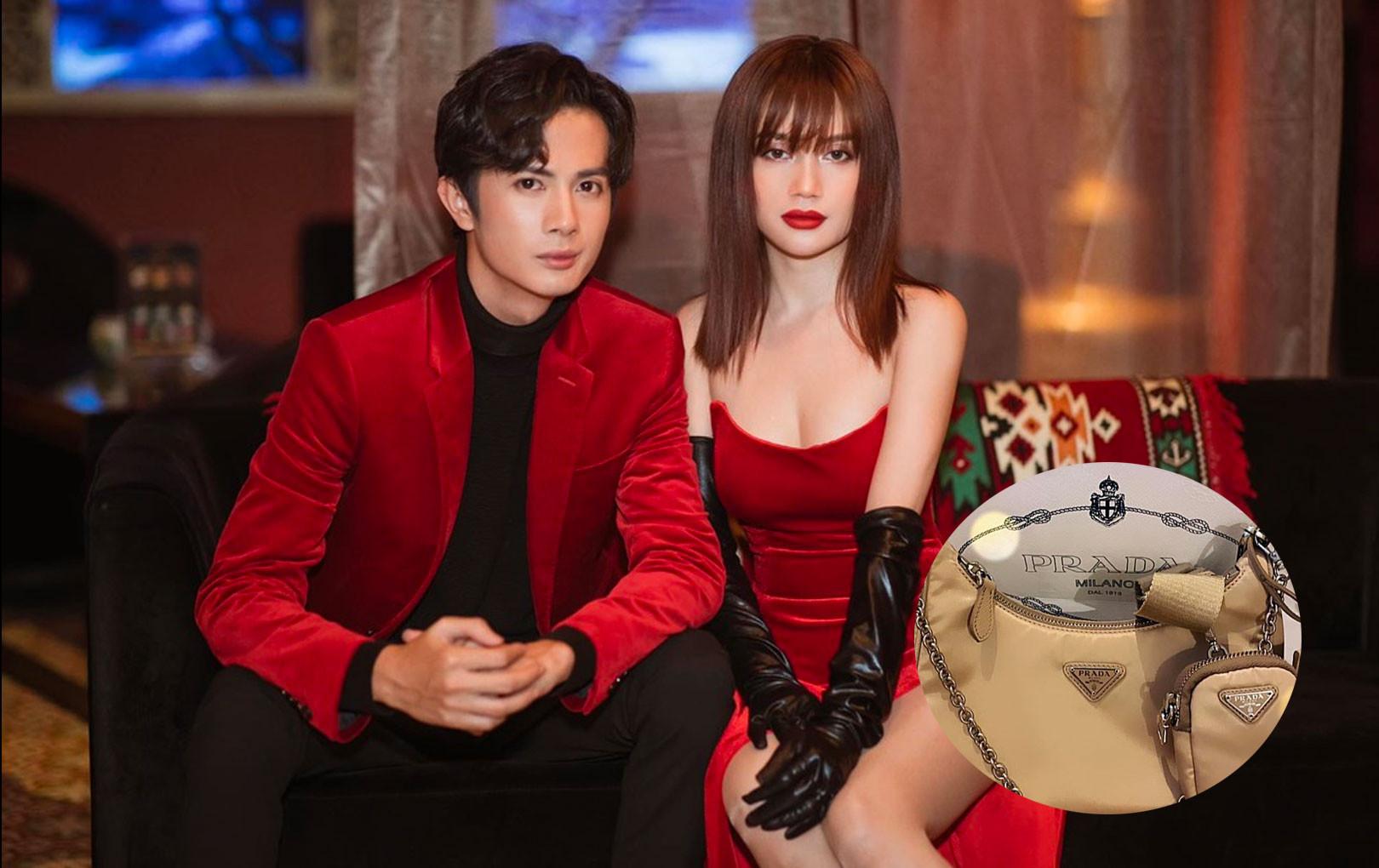 """Huỳnh Phương tiếp tục trở thành """"bạn trai quốc dân"""" khi tặng túi hiệu đầu tiên cho Sĩ Thanh trong năm 2020"""