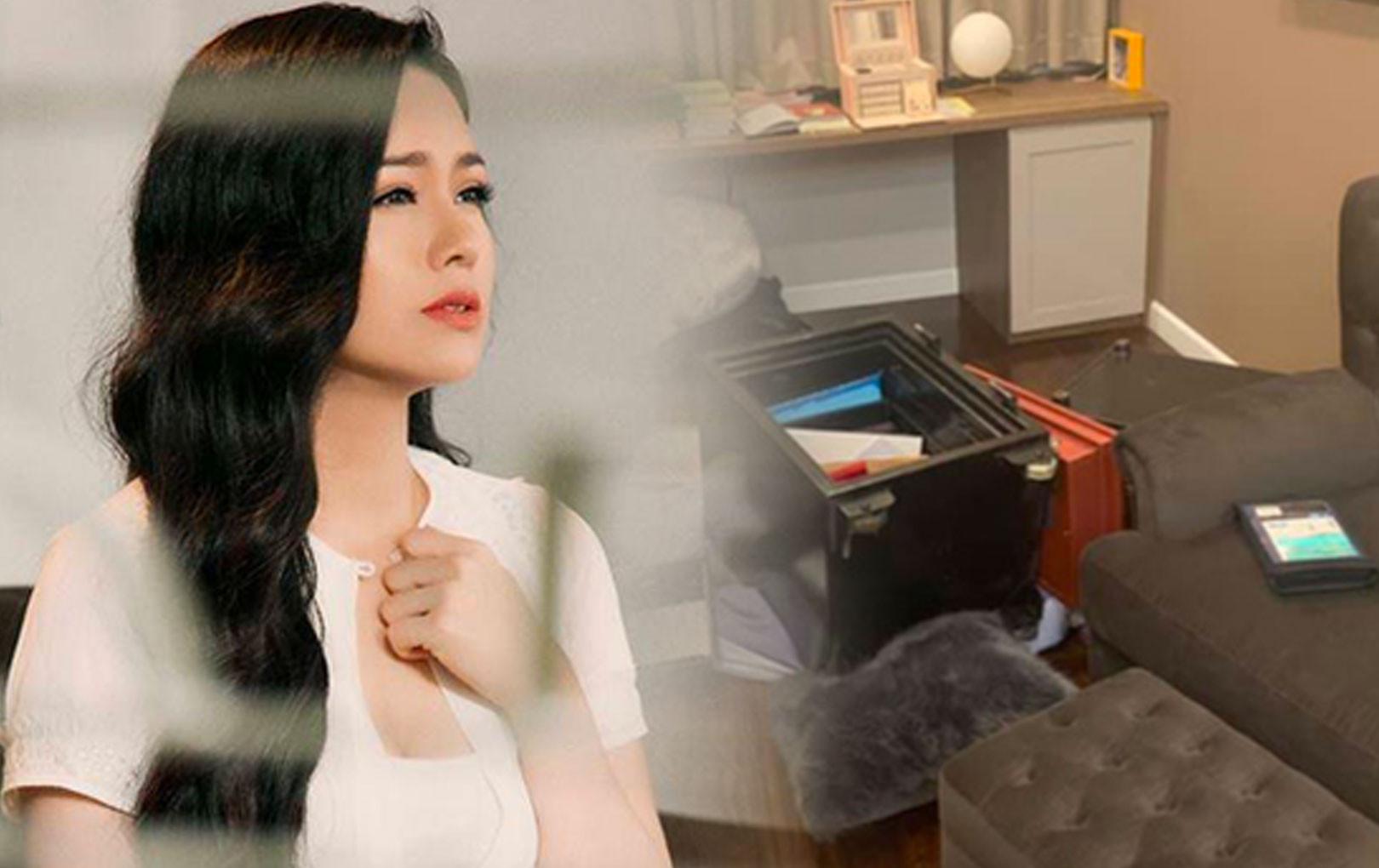 Nhật Kim Anh nhận lại 60 cây vàng từ công an sau vụ trộm viếng thăm biệt thự