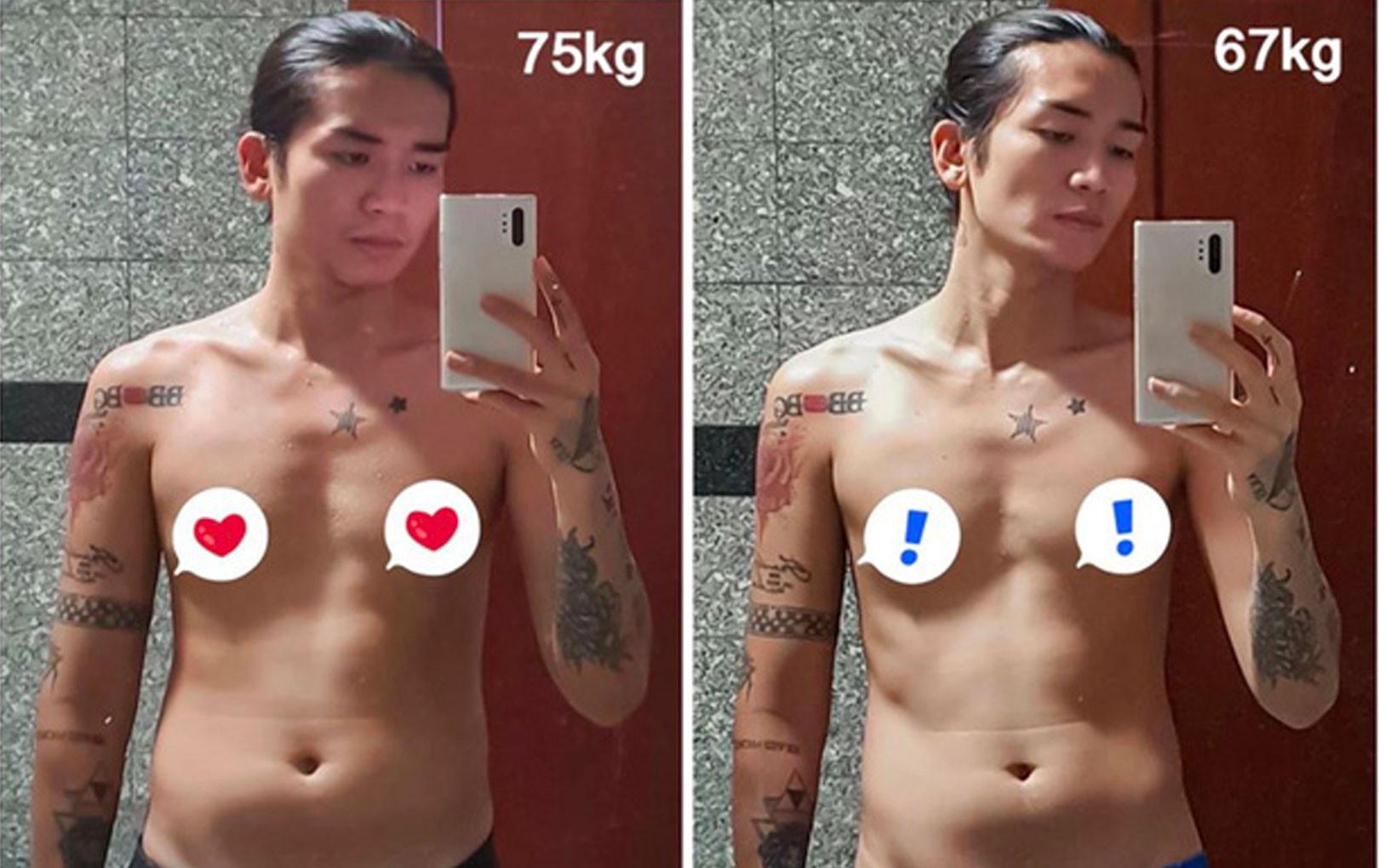 """BB Trần khoe chiến tích hạ sinh """"bé Mỡ"""" 8kg, chính thức tạm biệt thân hình phì nhiêu chỉ trong 1 tháng"""