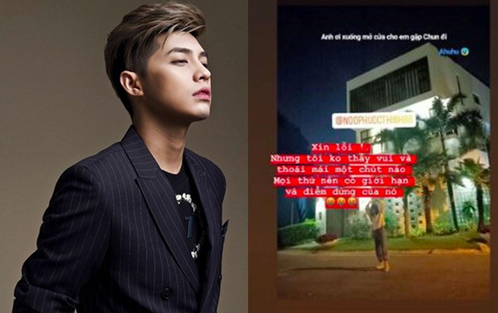 Noo Phước Thịnh tức giận vì fan nữ mò tới tận cửa vào nửa đêm