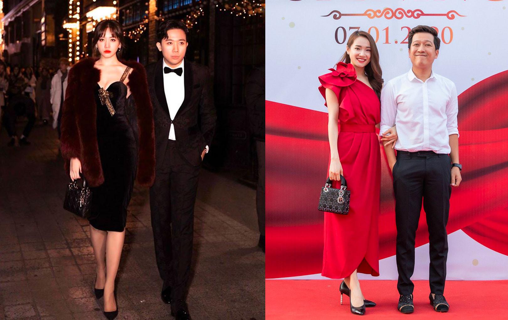 """Cái """"ngược"""" thú vị trong phong cách của hai cặp vợ chồng MC - danh hài hot nhất showbiz Việt từ khi kết hôn đến giờ"""