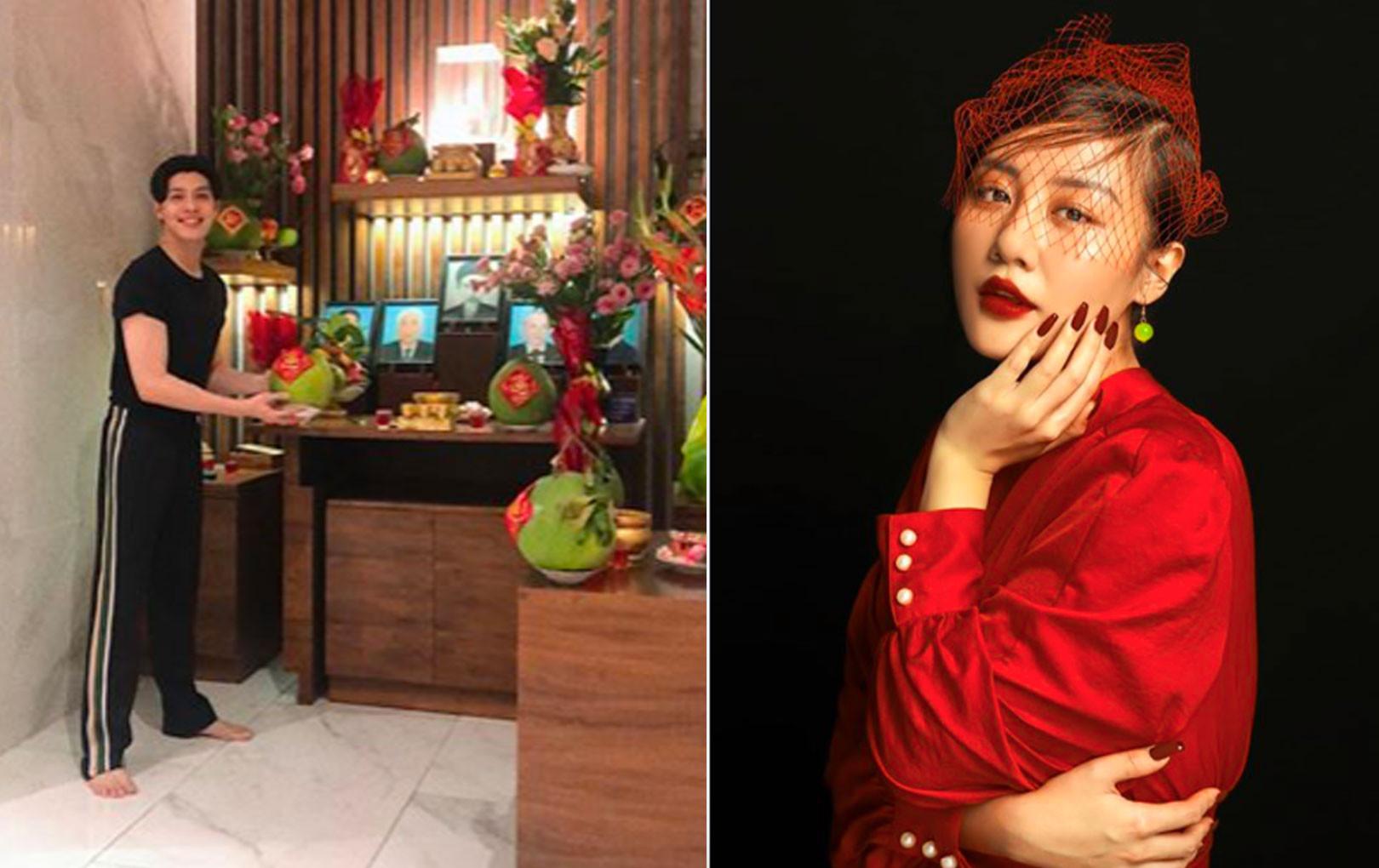 Đông Nhi - Ông Cao Thắng, Midu và dàn sao Việt tưng bừng chúc mừng năm mới, đón chào Tết Canh Tý 2020