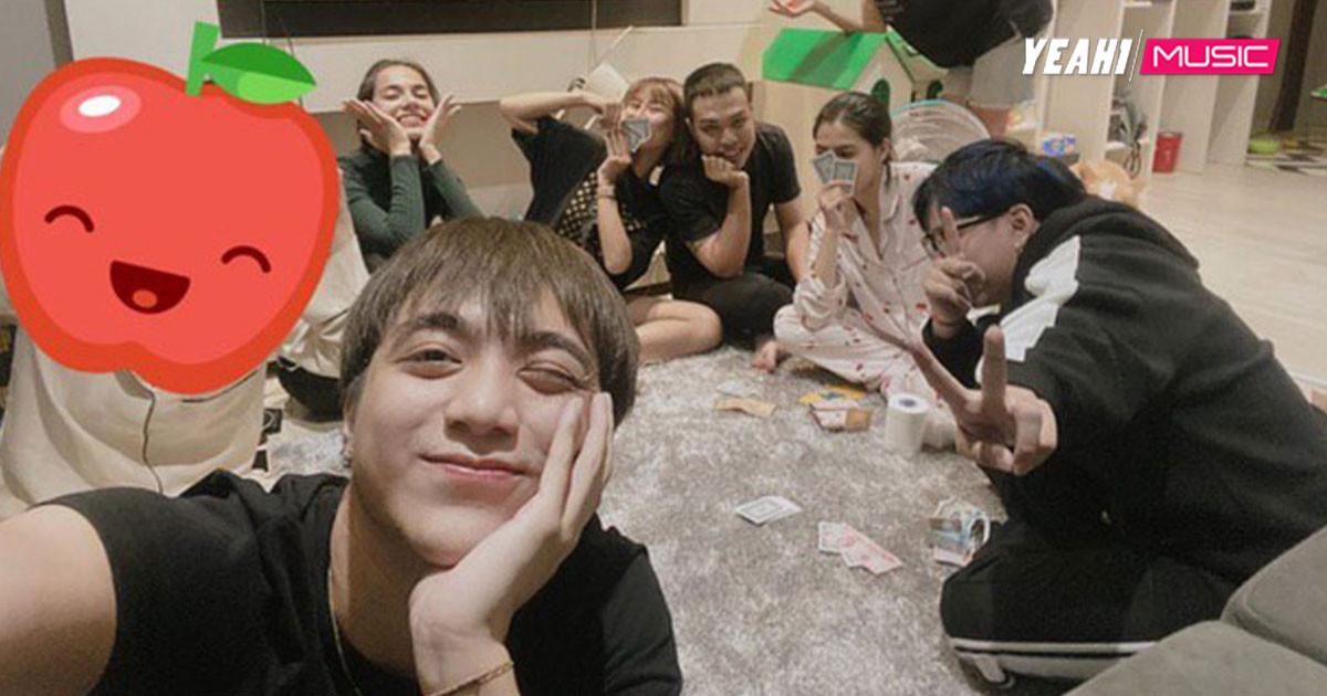 Soobin Hoàng Sơn khoe ảnh tụ tập bạn bè nhưng khéo léo che mặt cô gái bên cạnh