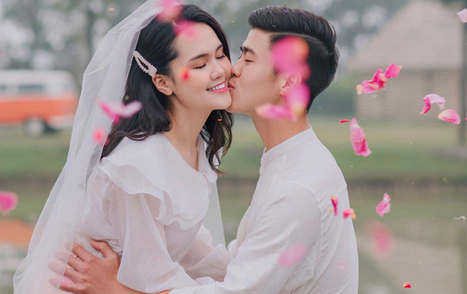 Duy Mạnh và Quỳnh Anh tung thêm loạt ảnh cưới cực lãng mạn, đậm chất ngôn tình