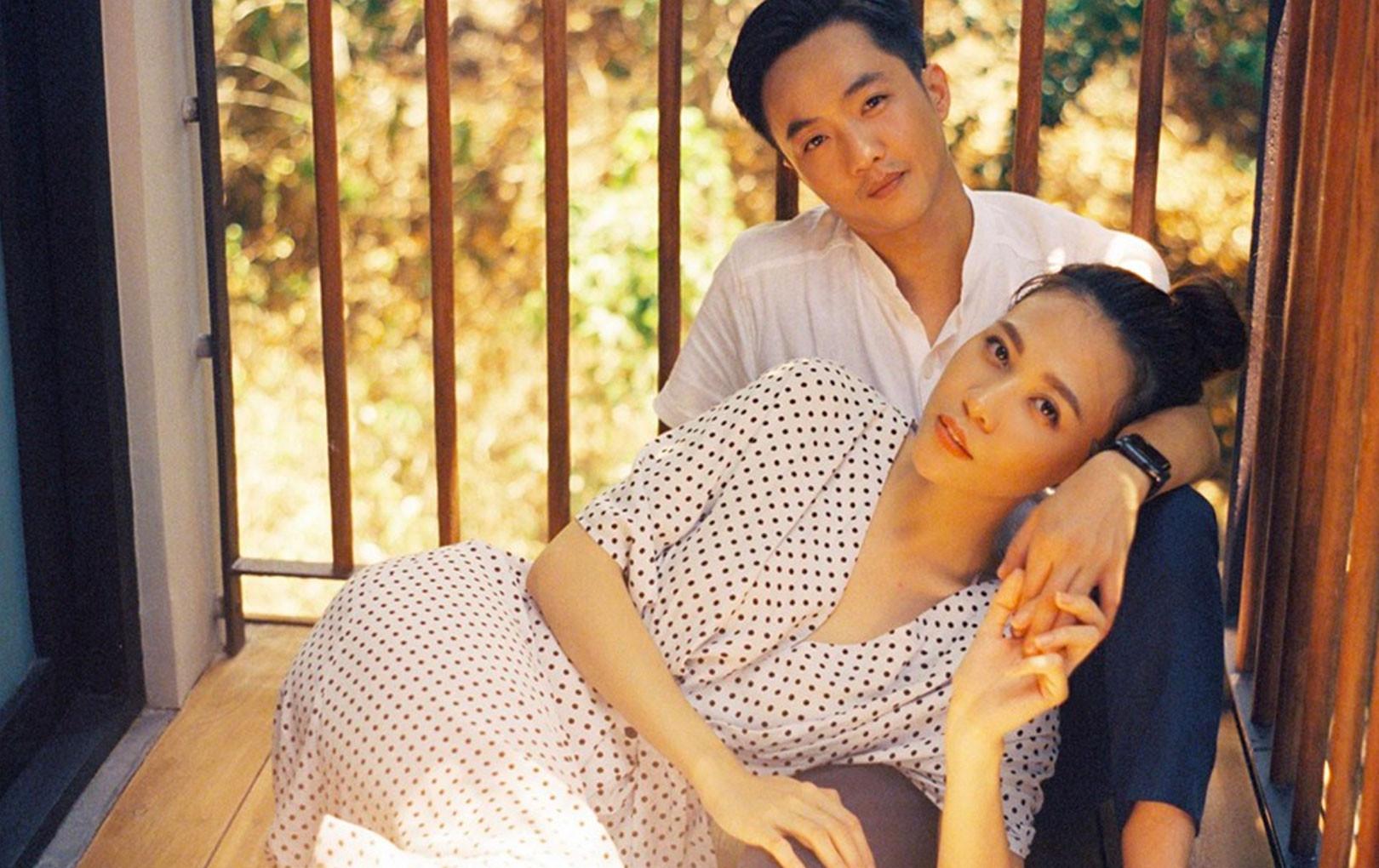 Đàm Thu Trang lãng mạn mang bánh đến tận giường mừng sinh nhật ông xã Cường Đô La