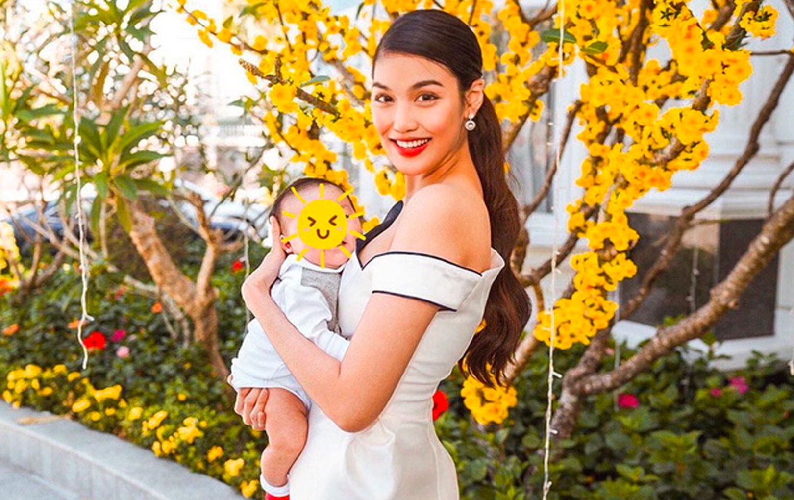 Con trai Lan Khuê được mẹ tuyên bố tài sản thừa kế đầu tiên chỉ mới 2 tháng tuổi