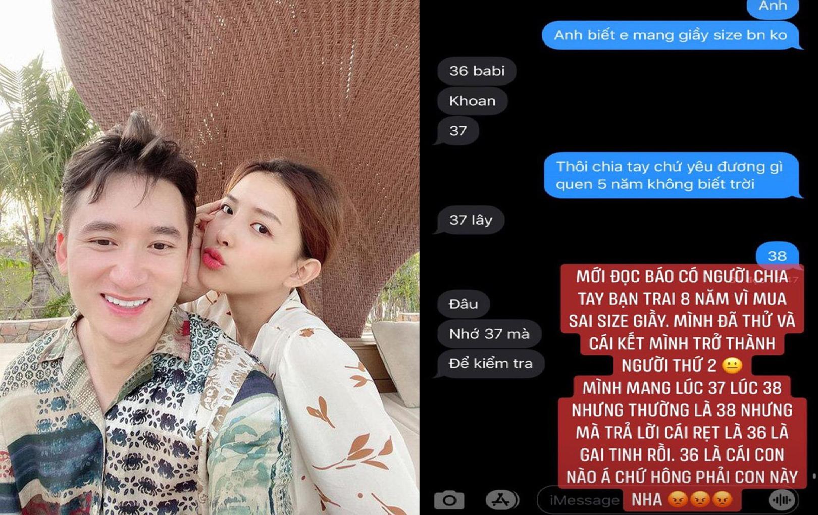 Nhân chuyện chia tay của Mâu Thủy, Phan Mạnh Quỳnh bị bạn gái vặn hỏi size giày và nhận cái kết không như mơ!