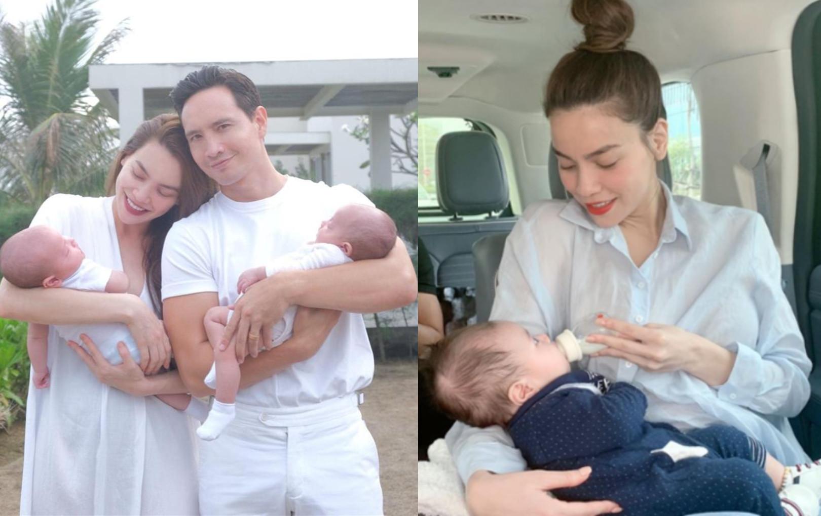 Đã sinh được 3 người con nhưng Hồ Ngọc Hà vẫn bị netizen nhắc nhở vì chăm con chưa khéo
