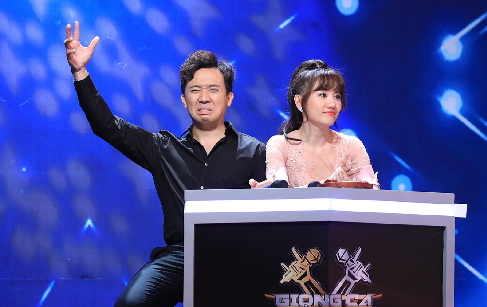 Trấn Thành và Hari Won cãi nhau vì máy lọc không khí hứa tặng cho Lăng LD và Ricky Star