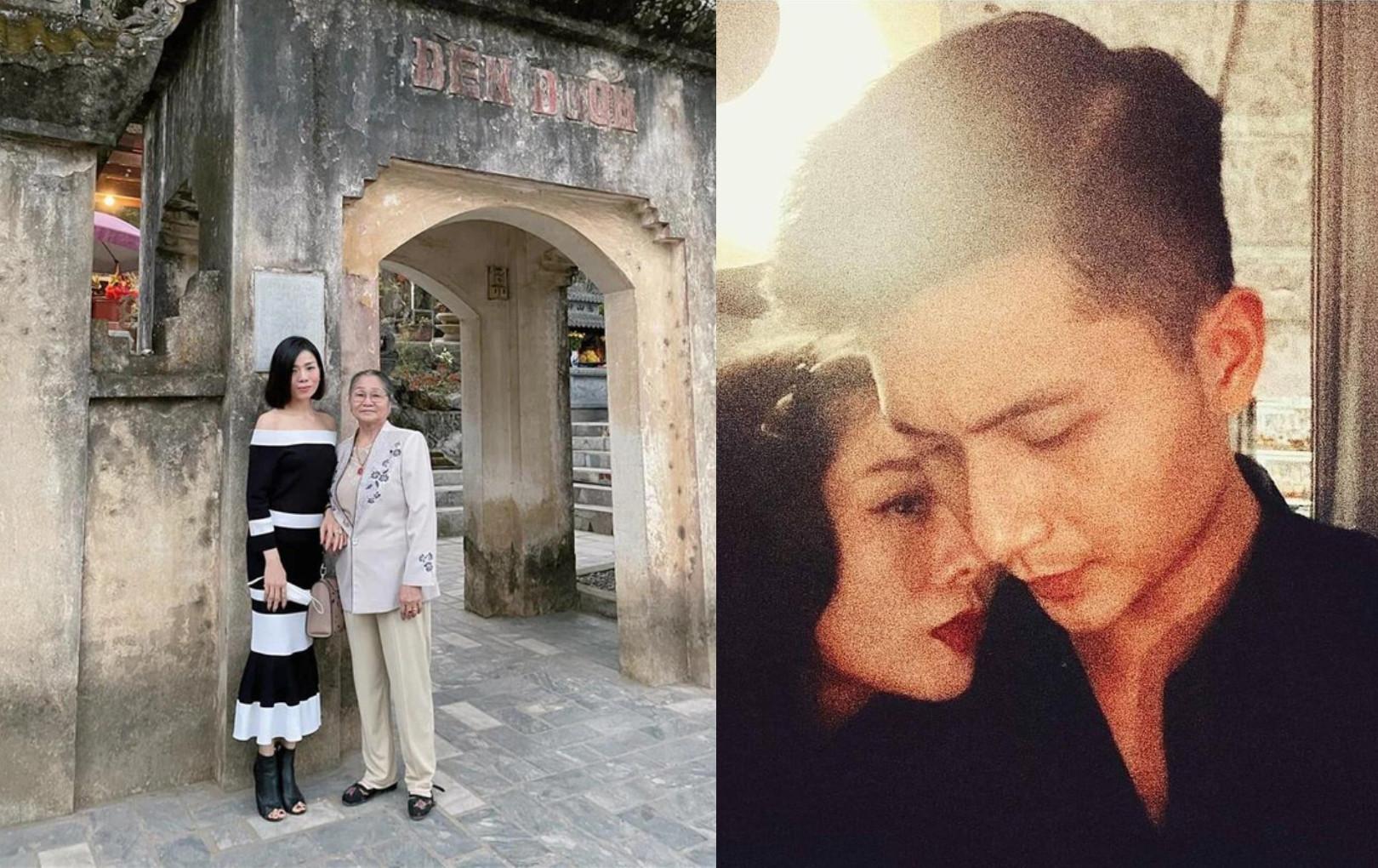 Lệ Quyên đã đưa Lâm Bảo Châu ra mắt gia đình, còn vô tình để lộ thái độ của mẹ đẻ với bạn trai kém tuổi