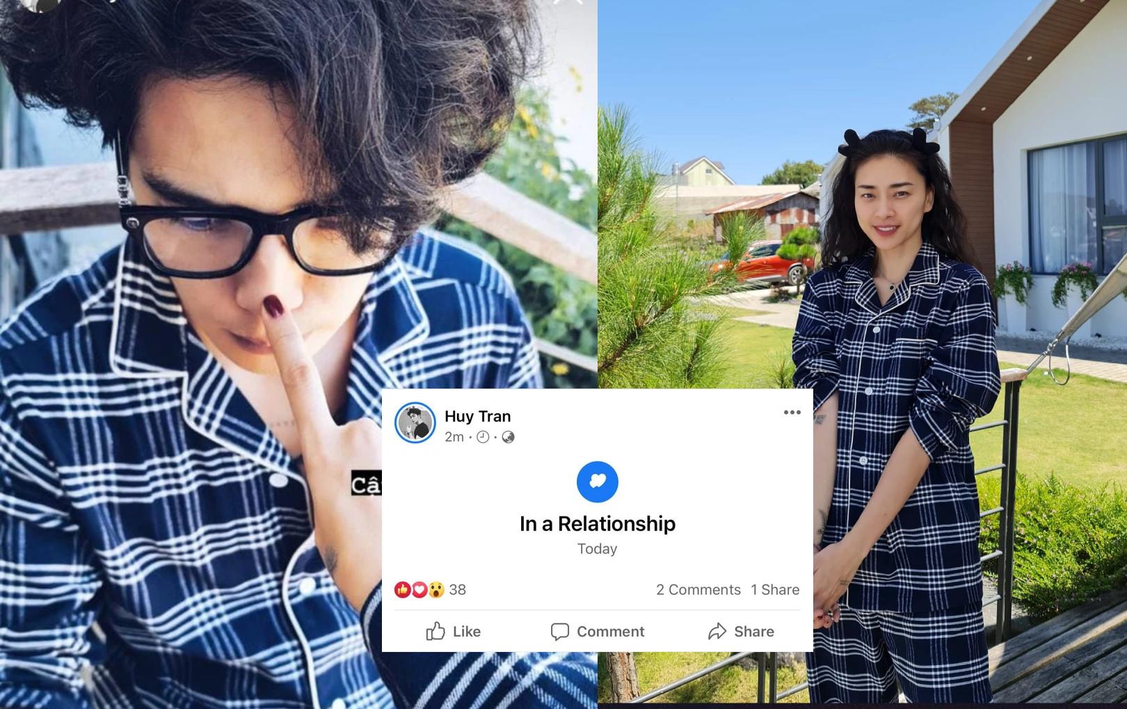 """HOT: Huy Trần chính thức công khai """"Đang hẹn hò"""" sau khi về quê Ngô Thanh Vân ăn Tết"""