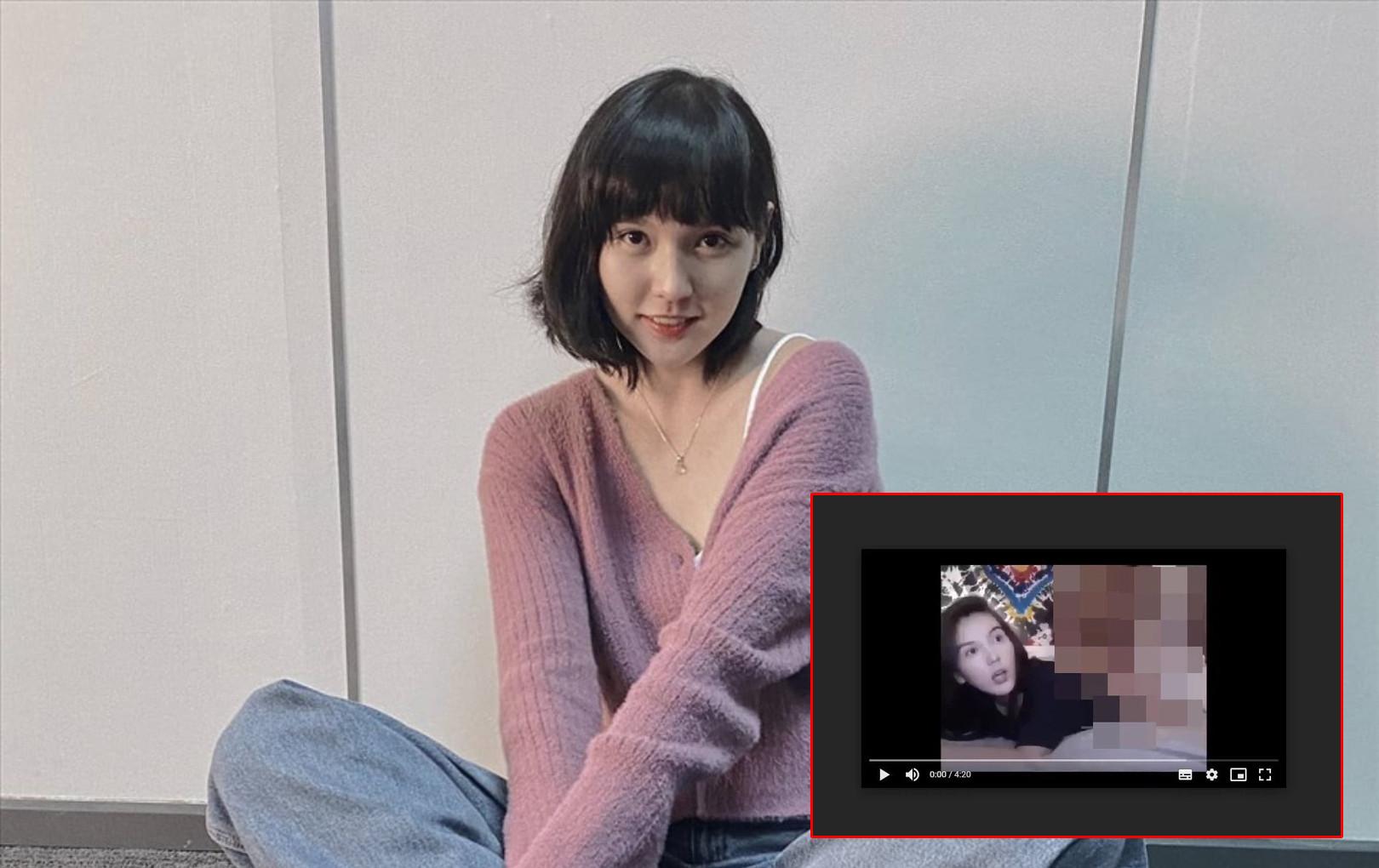 Sau Ninh Dương Lan Ngọc, antifan tiếp tục lan truyền hình ảnh được cho là Hải Tú trong 1 clip giường chiếu