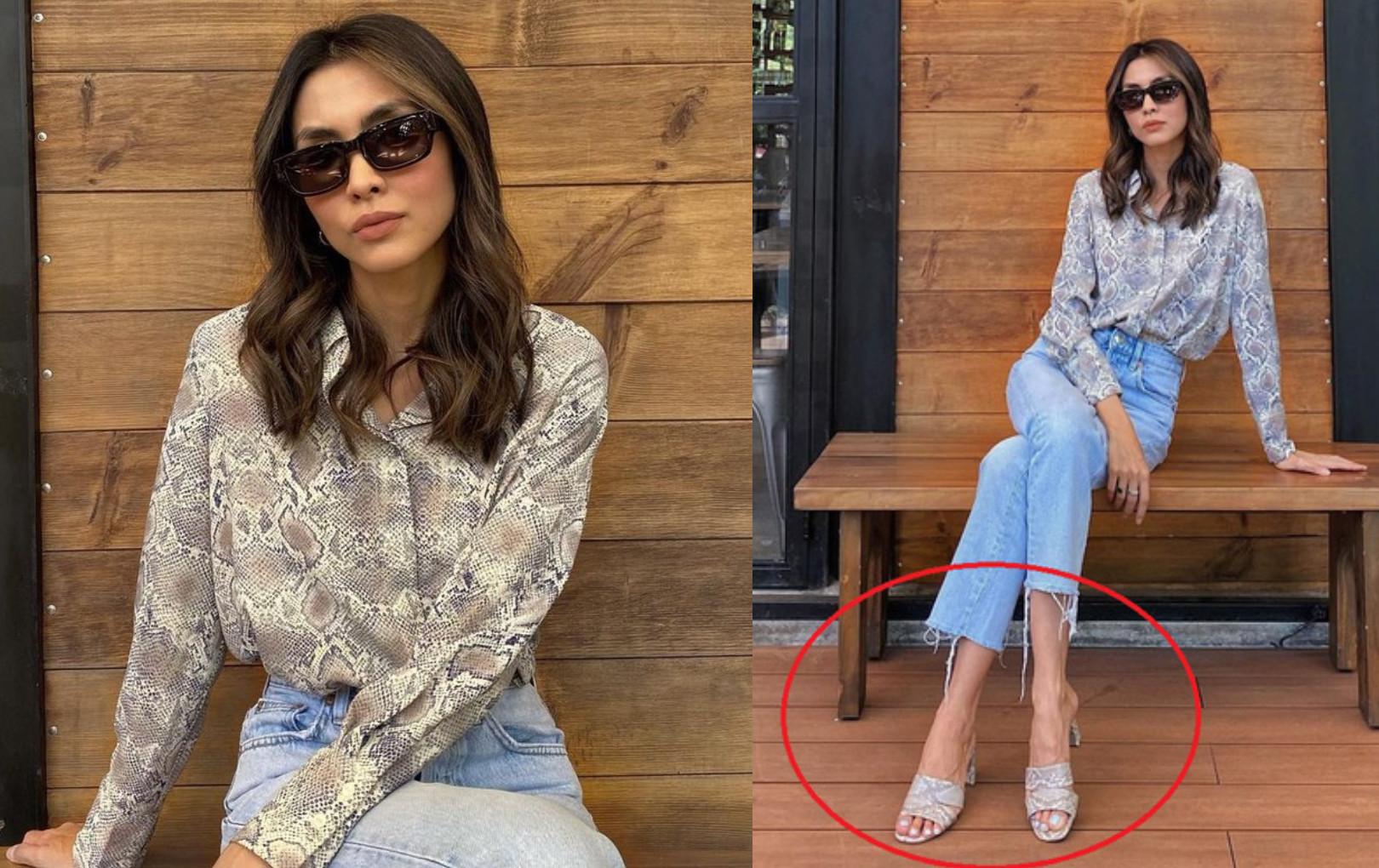 Tăng Thanh Hà khoe kiểu tóc mới nhưng đôi chân gân guốc mới là điều khiến nhiều người lo lắng
