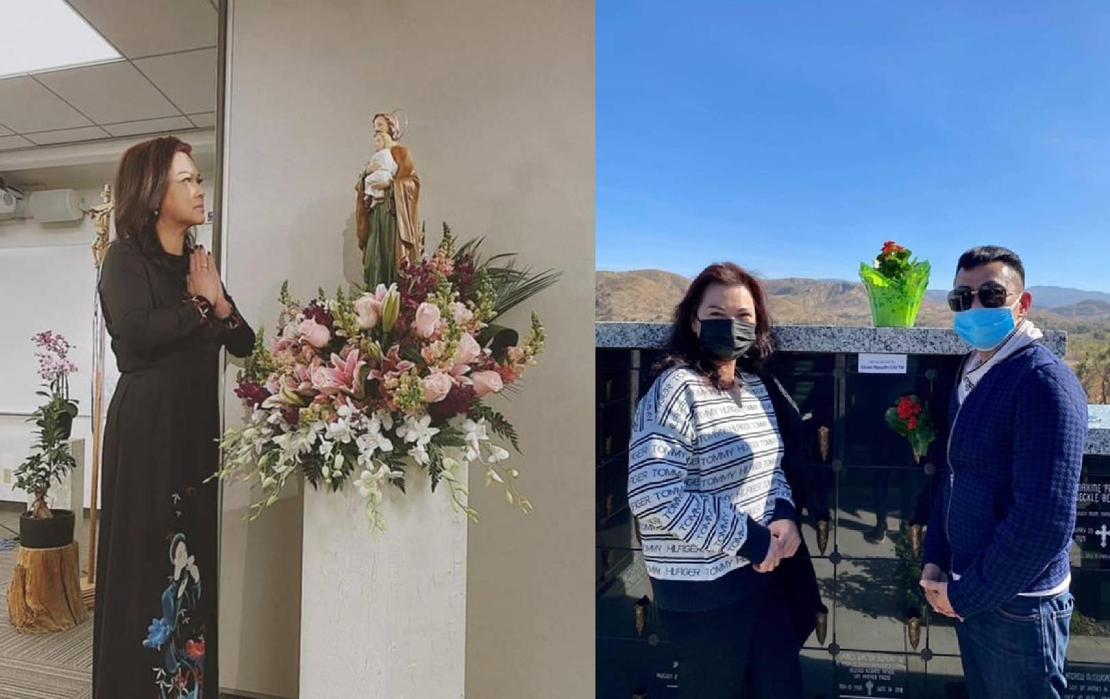 Ca sĩ Phương Loan tổ chức trang trọng lễ tưởng niệm 100 ngày cố nghệ sĩ Chí Tài qua đời