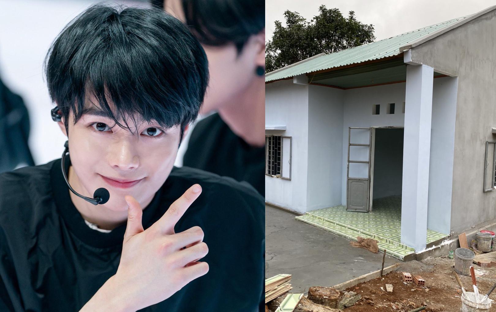 Fandom Hanbin (Ngô Ngọc Hưng) ủng hộ 160 triệu xây nhà Hạnh Phúc cho học sinh mồ côi
