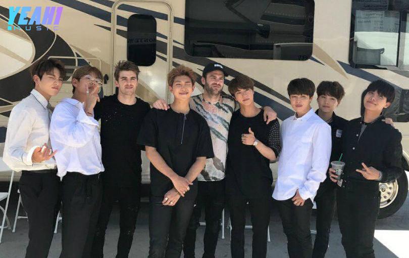 """BTS bất ngờ biểu diễn siêu hit """"Closer"""" với The Chainsmokers"""