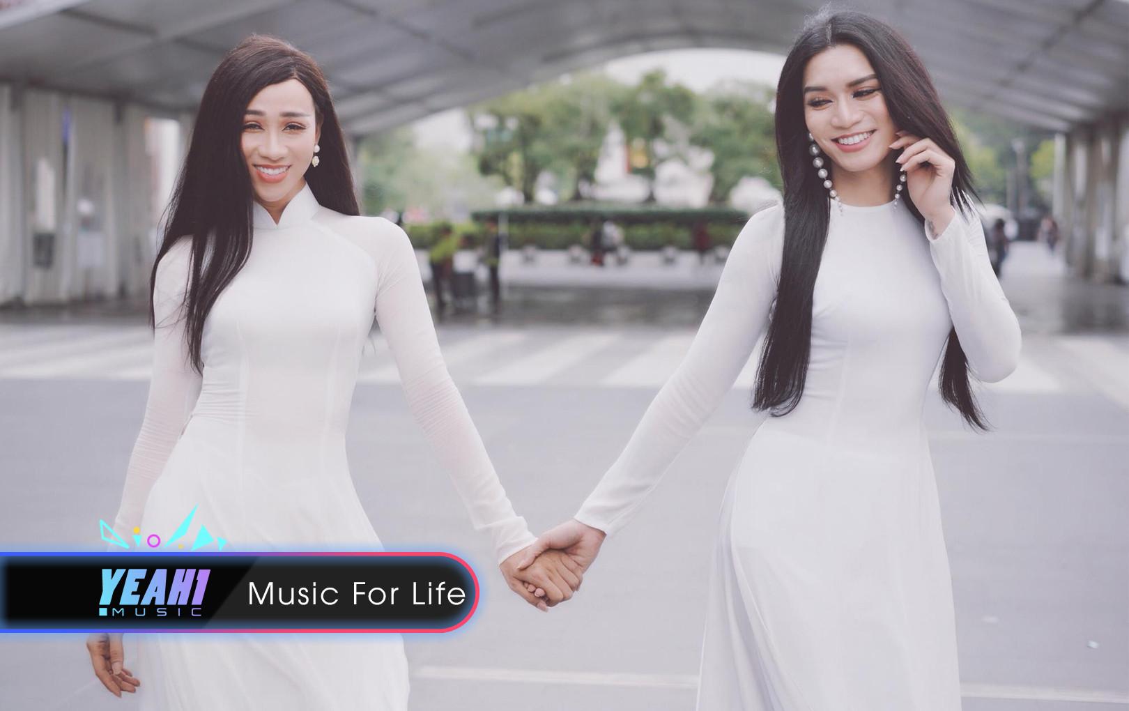 """Chị em """"Sò Lụa"""" BB Trần và Hải Triều khoe nét đẹp Áo Dài Việt Nam đầy quyến rũ trên đất Thái"""