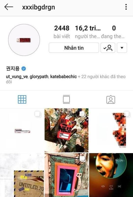 Cuộc đua không cân sức trên Instagram: Chanyeol (EXO) lại vượt mặt lượng theo dõi của G-Dragon