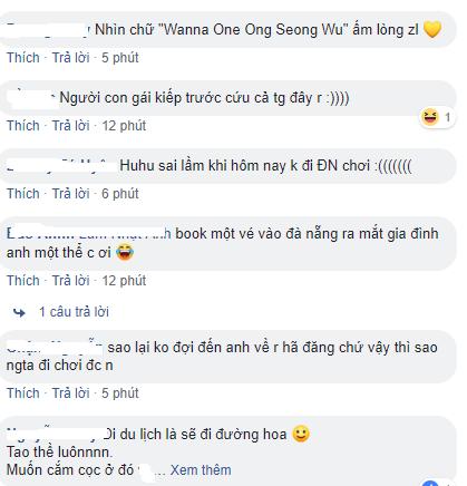 Ong Seong Woo (WANNA ONE) dắt cả gia đình đến Đà Nẵng du xuân