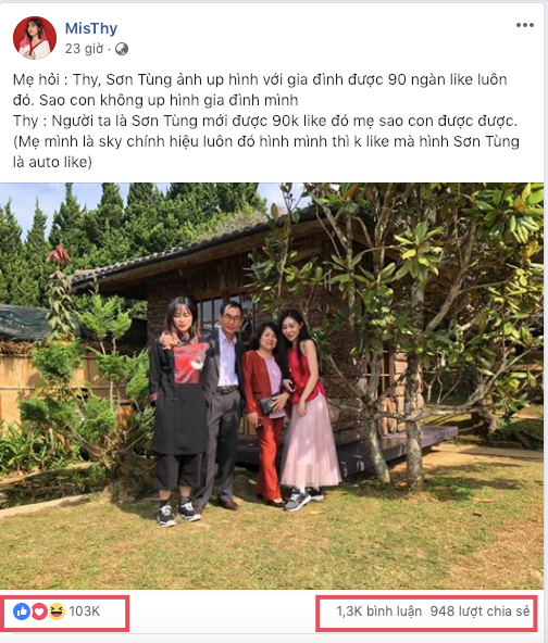 MisThy đáp trả khi bị chỉ trích ăn theo Sơn Tùng M-TP, nhờ cả mẹ xác minh