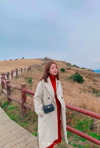 Chi Pu sang tận Hàn Quốc thăm bạn trai tin đồn Jin Ju Hyung ngày đầu năm