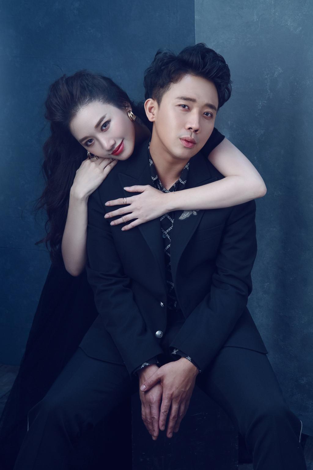 Vợ chồng Hari Won-Trấn Thành tung bộ ảnh tình bể bình, đẹp xuất sắc ngày Valentine