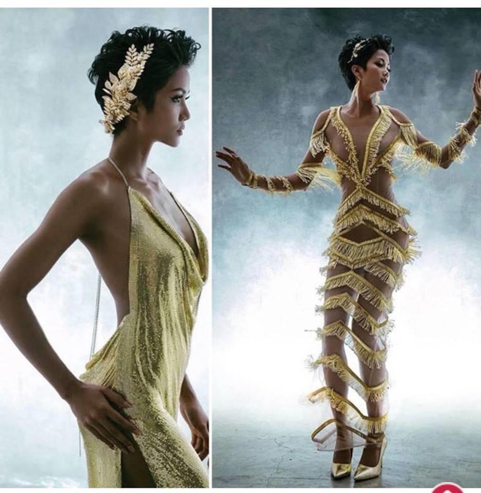 Váy xuyên thấu sao Việt qua cái nhìn CĐM: HHen Niê như nữ thần, Nam Em trông giống... cá Koi