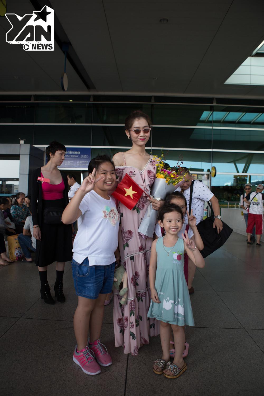 Nhật Hà chính thức lên đường tham gia Hoa hậu Chuyển giới quốc tế 2019