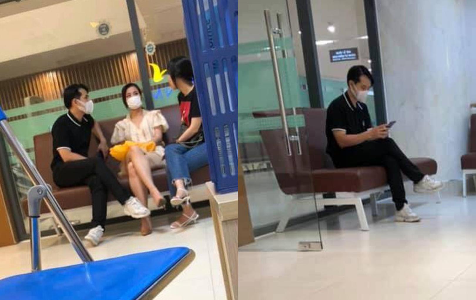 Fan bắt gặp Đông Nhi - Ông Cao Thắng ở bệnh viện, đeo khẩu trang kín mít