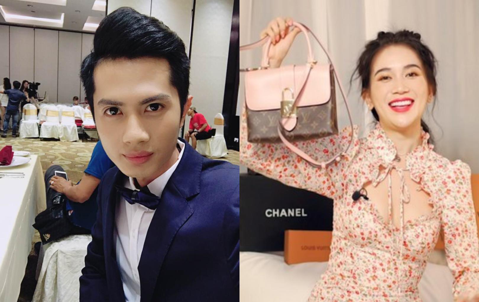 """Sĩ Thanh làm clip """"giải oan"""" nhưng Huỳnh Phương lại lỡ miệng tiết lộ bạn gái mua túi nhái """"đập hộp"""""""