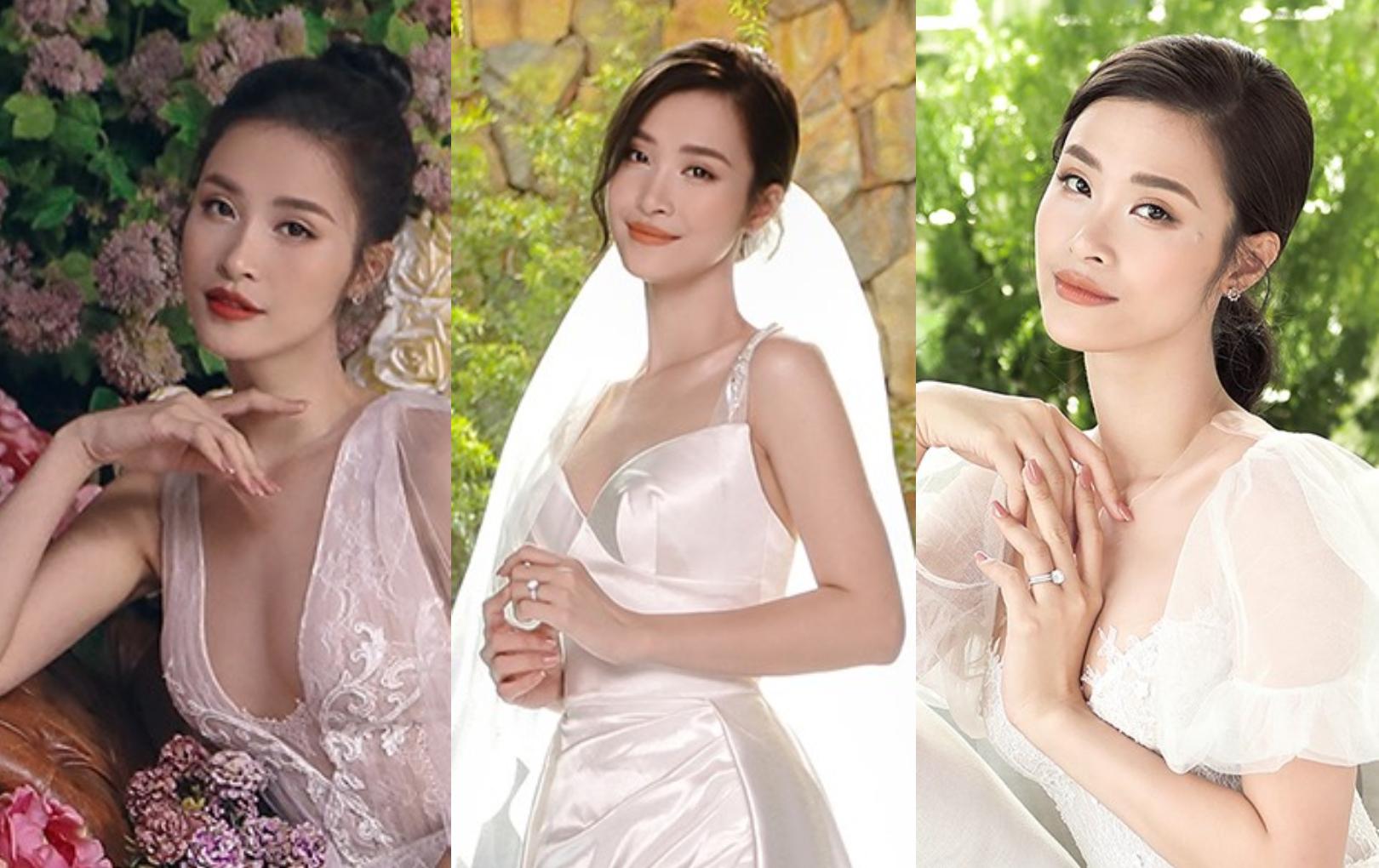 Đông Nhi chơi lớn thay 10 bộ váy cưới trong ngày trọng đại, tượng trưng cho 10 năm yêu nhau