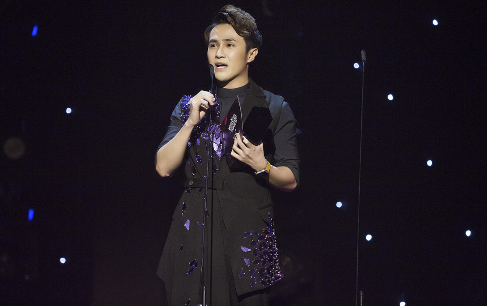 Huỳnh Lập được vinh danh Nhà sáng tạo nội dung truyền cảm hứng của năm