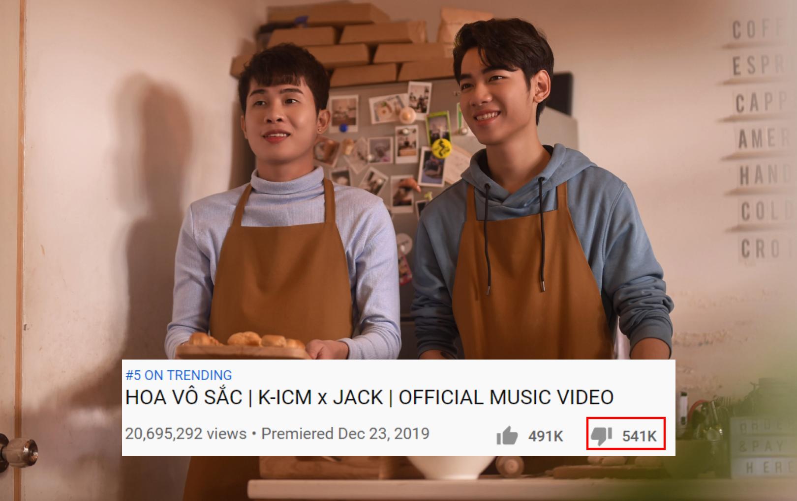 """Bị tẩy chay, MV """"Hoa vô sắc"""" giờ đã có lượng dislike vượt mặt lượt like"""
