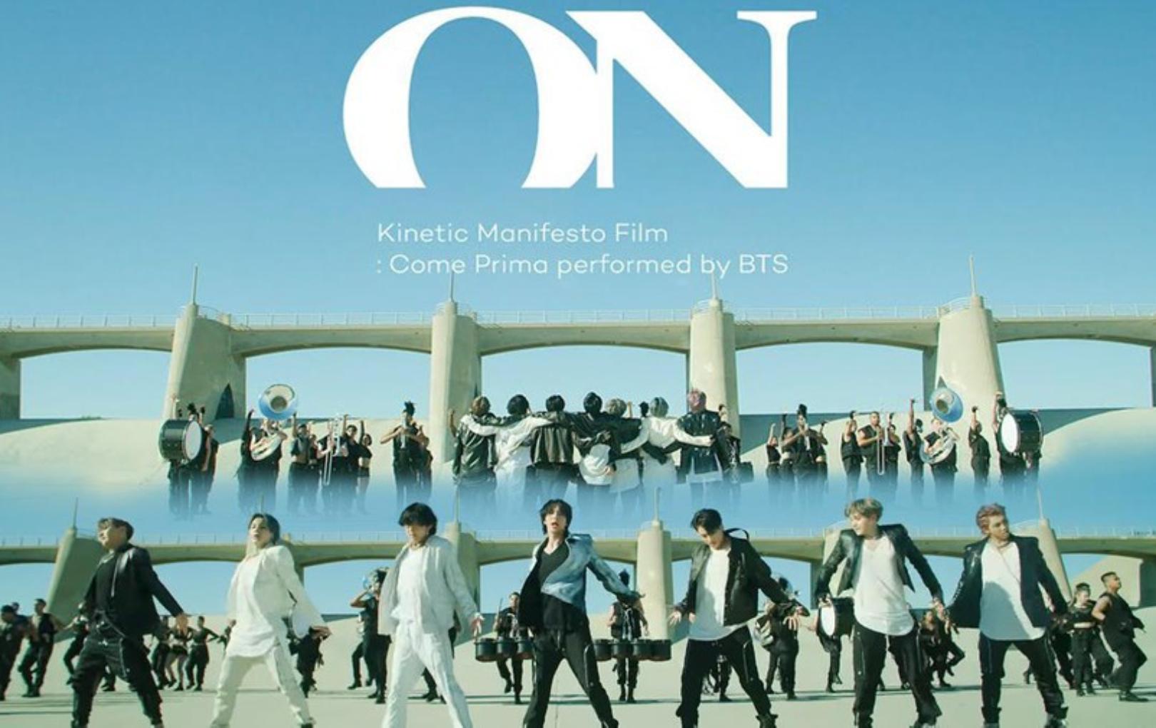"""MV """"ON"""": Kinematic Manifesto : Come Prima của BTS cán mốc 100 triệu lượt xem"""