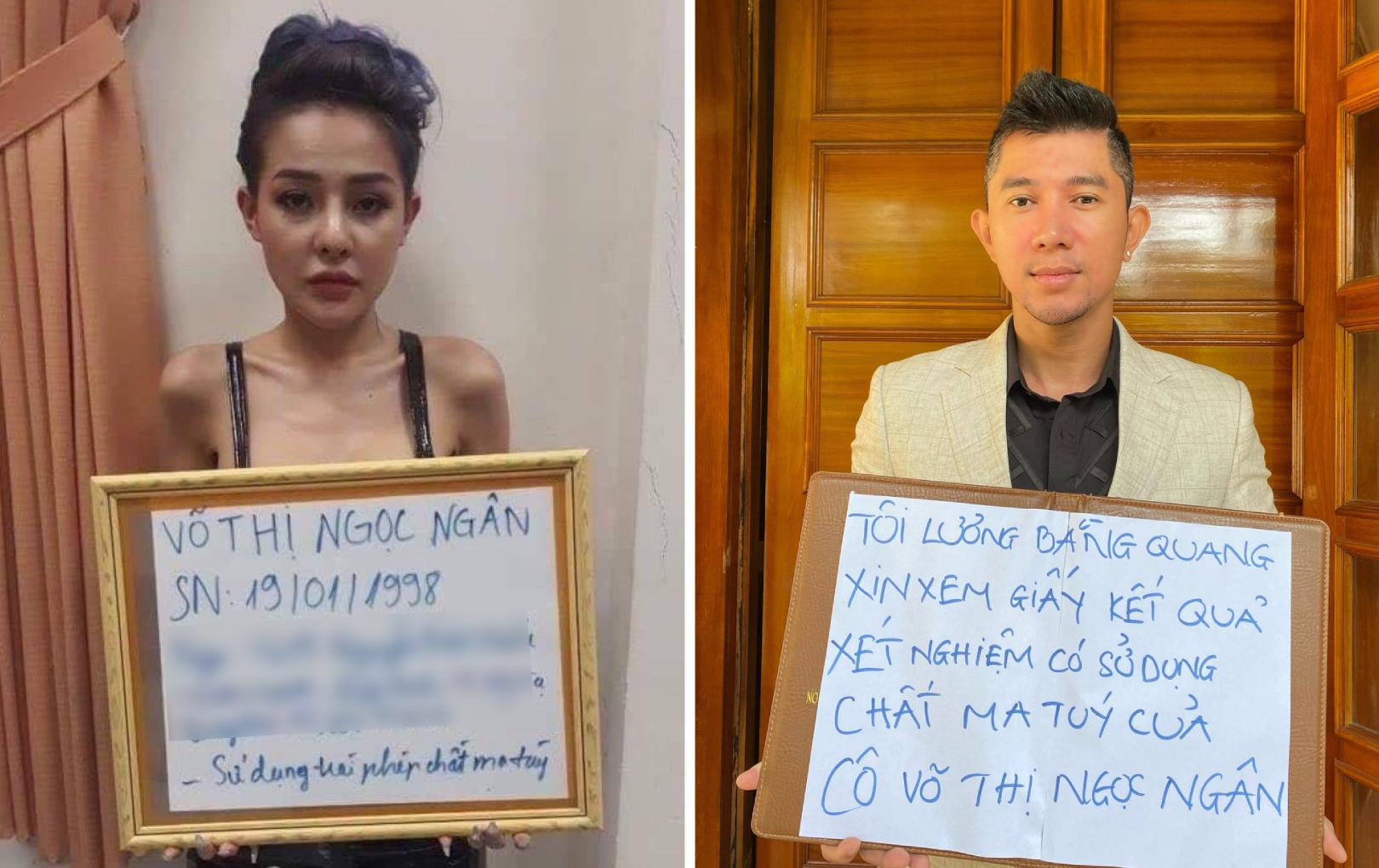 Lương Bằng Quang bênh vực Ngân 98, đòi xem kết quả xét nghiệm chất cấm của bạn gái