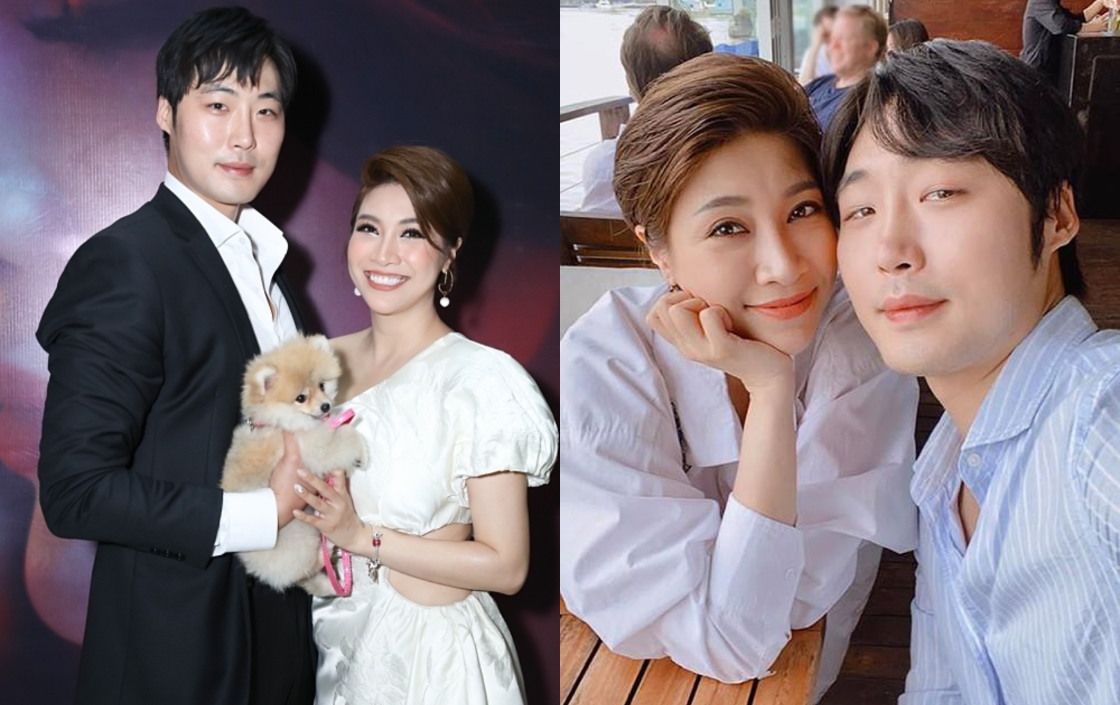 Pha Lê mang thai con đầu lòng với bạn trai người Hàn Quốc sau 1 năm hẹn hò